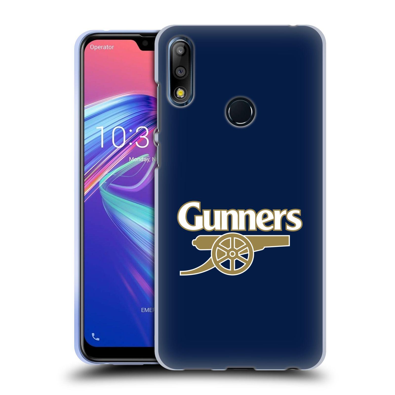 Silikonové pouzdro na mobil Asus Zenfone Max Pro M2 ZB631KL - Head Case - Arsenal FC - Gunners