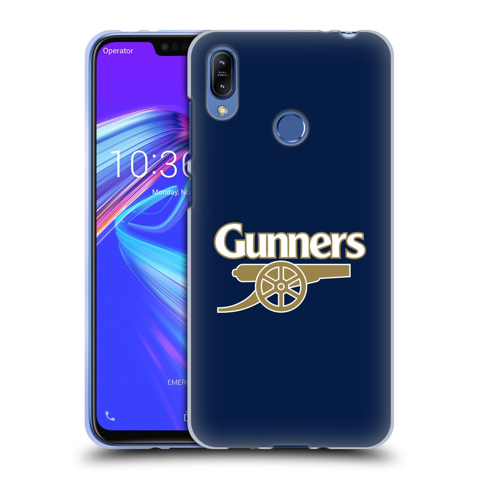Silikonové pouzdro na mobil Asus Zenfone Max (M2) ZB633KL - Head Case - Arsenal FC - Gunners