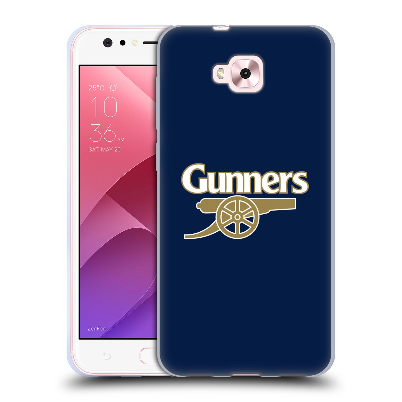 Silikonové pouzdro na mobil Asus Zenfone 4 Selfie ZD553KL - Head Case - Arsenal FC - Gunners