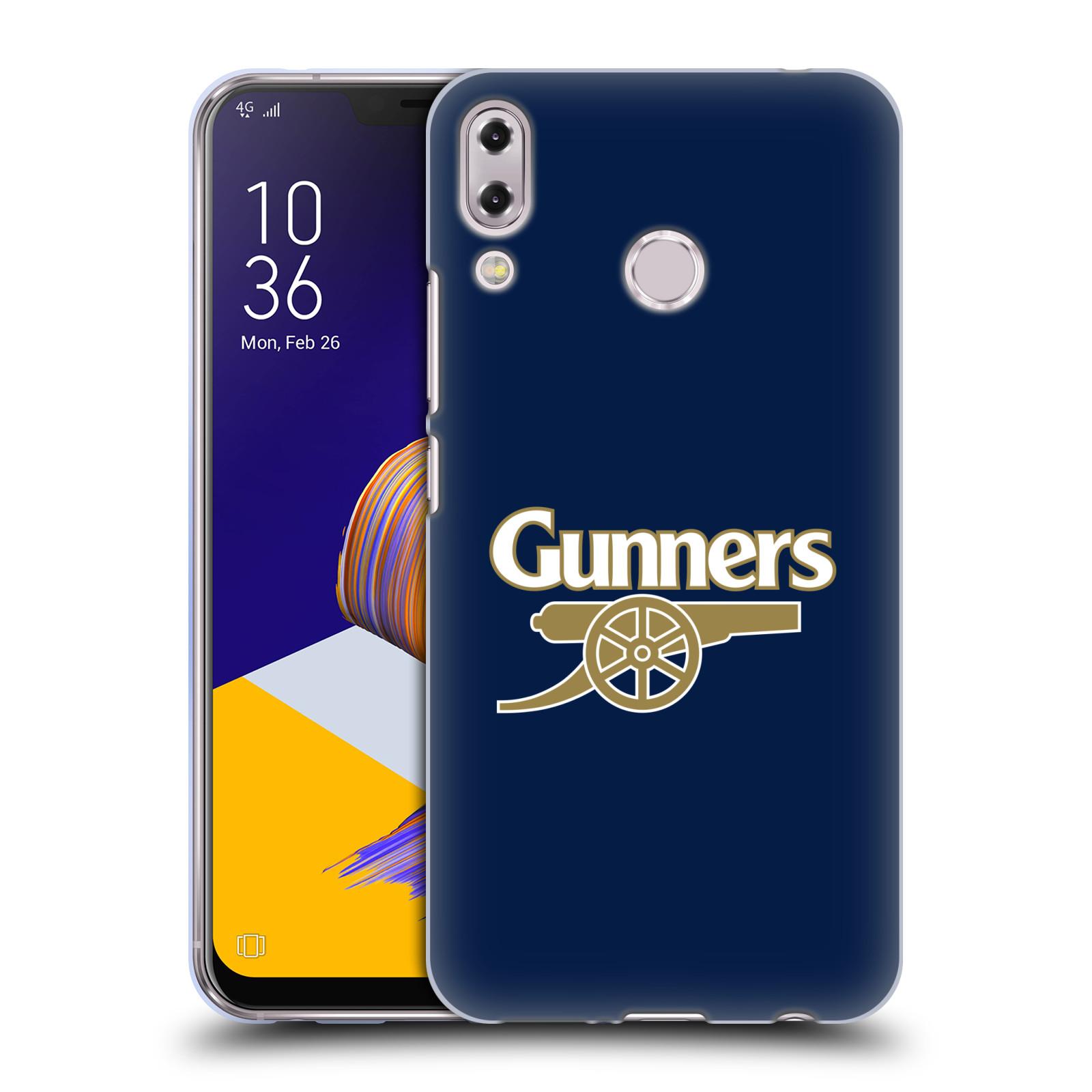 Silikonové pouzdro na mobil Asus ZenFone 5 ZE620KL - Head Case - Arsenal FC - Gunners