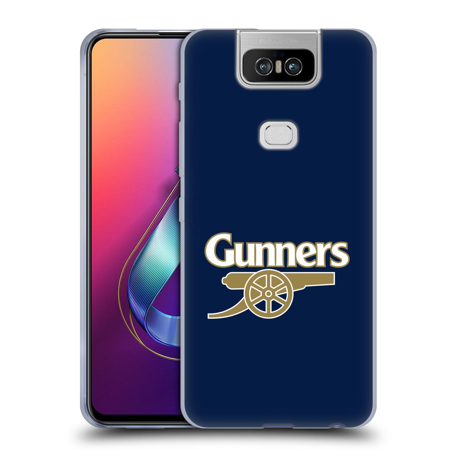 Silikonové pouzdro na mobil Asus Zenfone 6 ZS630KL - Head Case - Arsenal FC - Gunners