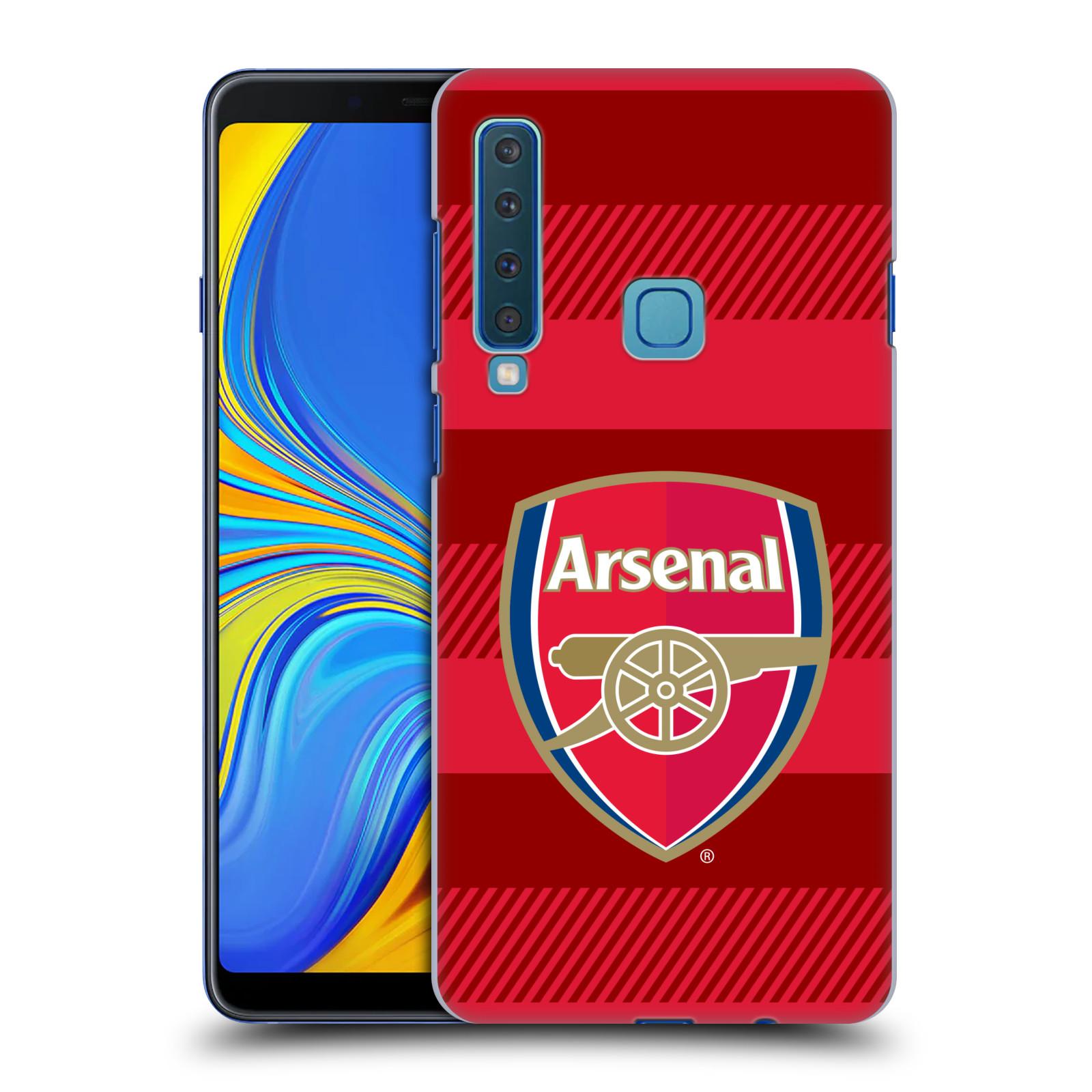 Plastové pouzdro na mobil Samsung Galaxy A9 (2018) - Head Case - Arsenal FC - Logo s pruhy