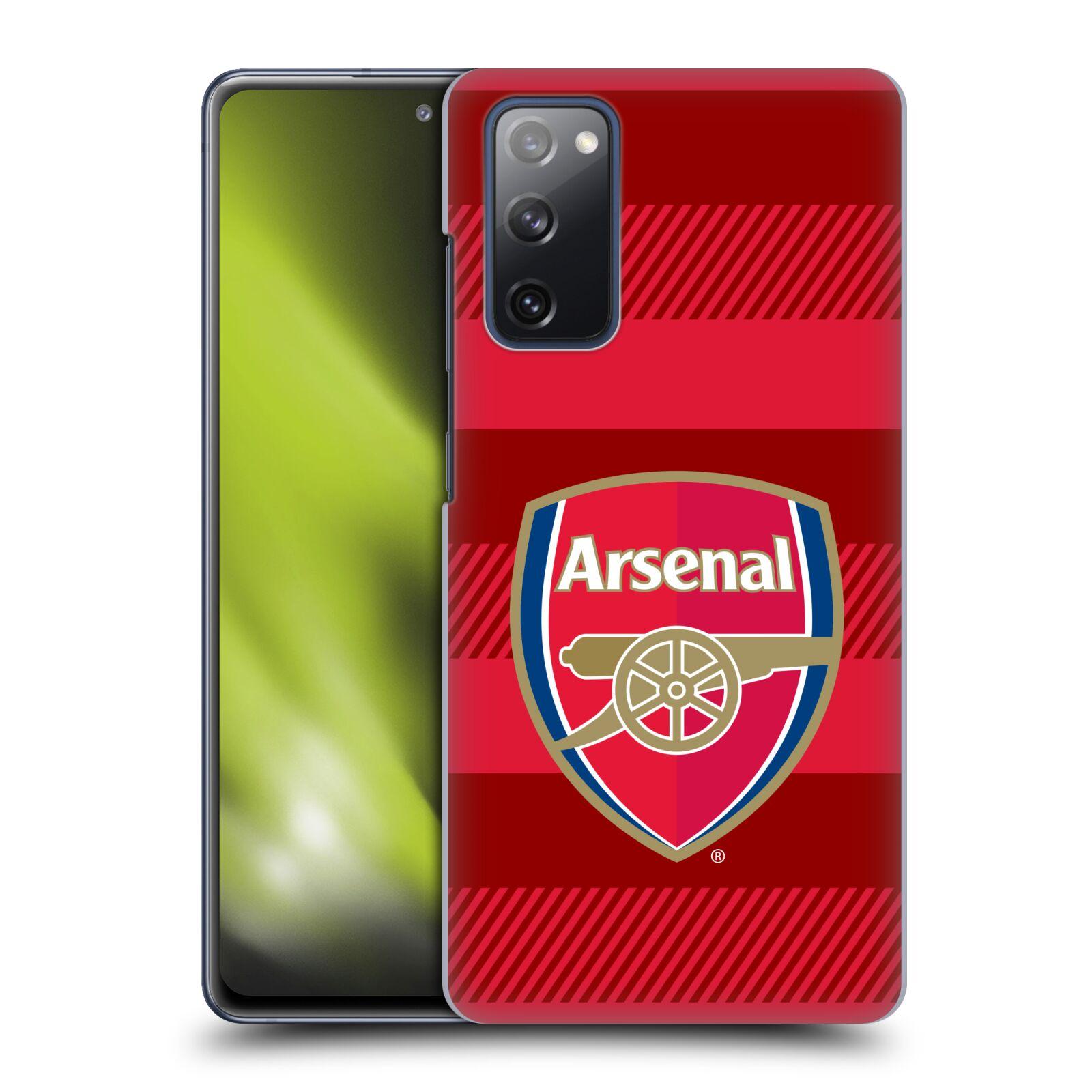 Plastové pouzdro na mobil Samsung Galaxy S20 FE - Head Case - Arsenal FC - Logo s pruhy