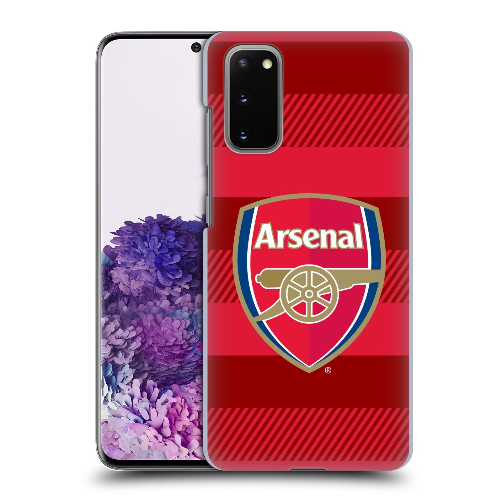 Plastové pouzdro na mobil Samsung Galaxy S20 - Head Case - Arsenal FC - Logo s pruhy