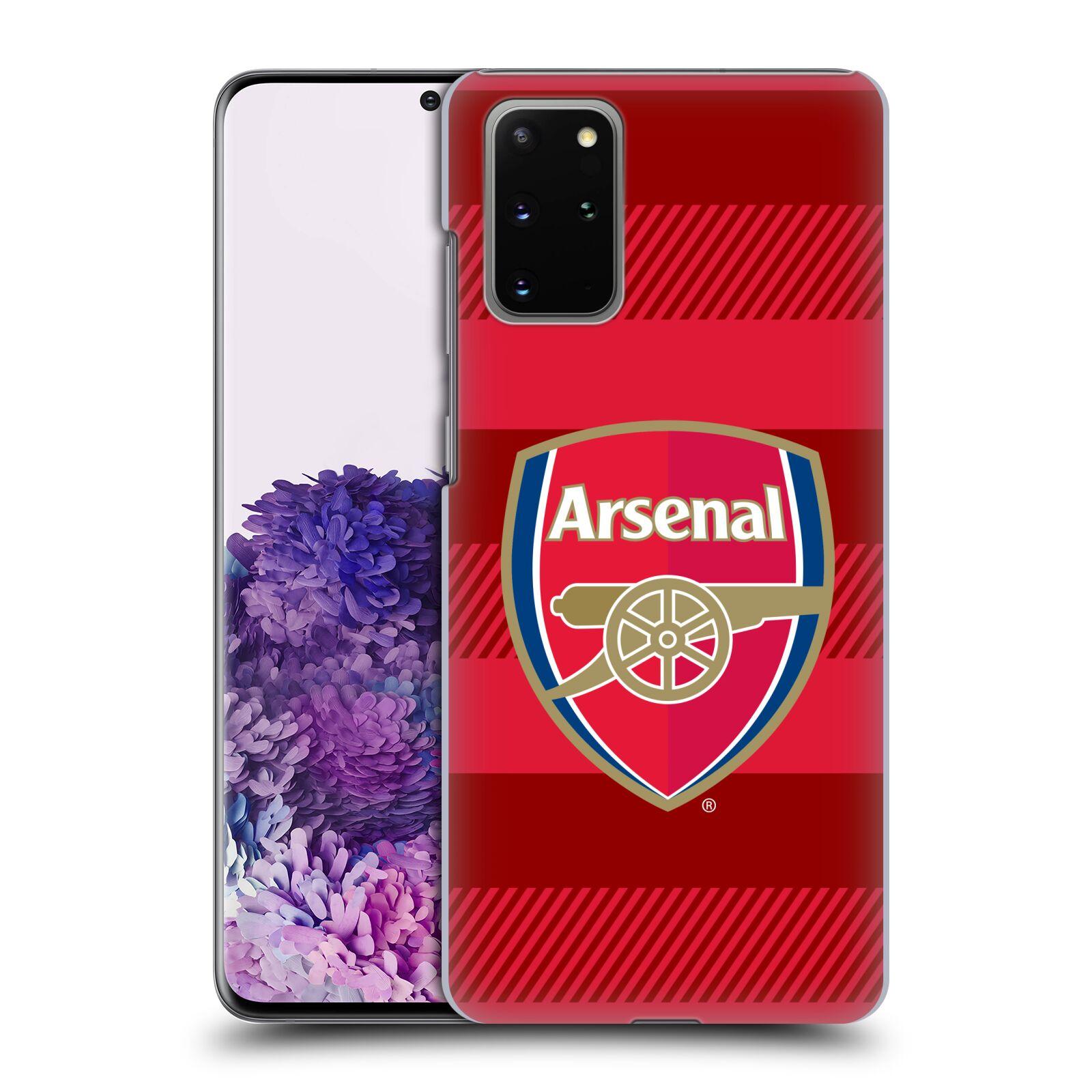 Plastové pouzdro na mobil Samsung Galaxy S20 Plus - Head Case - Arsenal FC - Logo s pruhy
