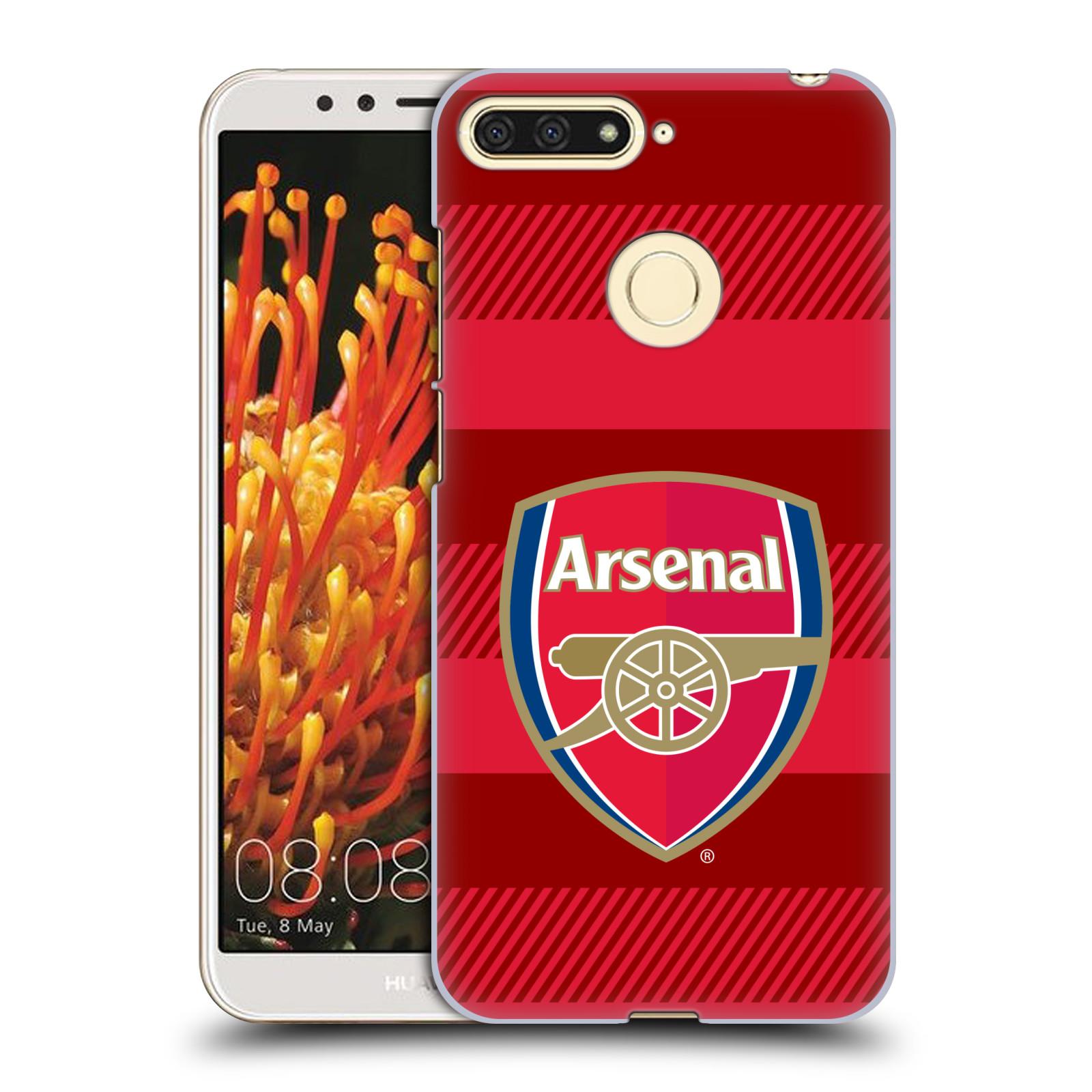 Plastové pouzdro na mobil Huawei Y6 Prime 2018 - Head Case - Arsenal FC - Logo s pruhy