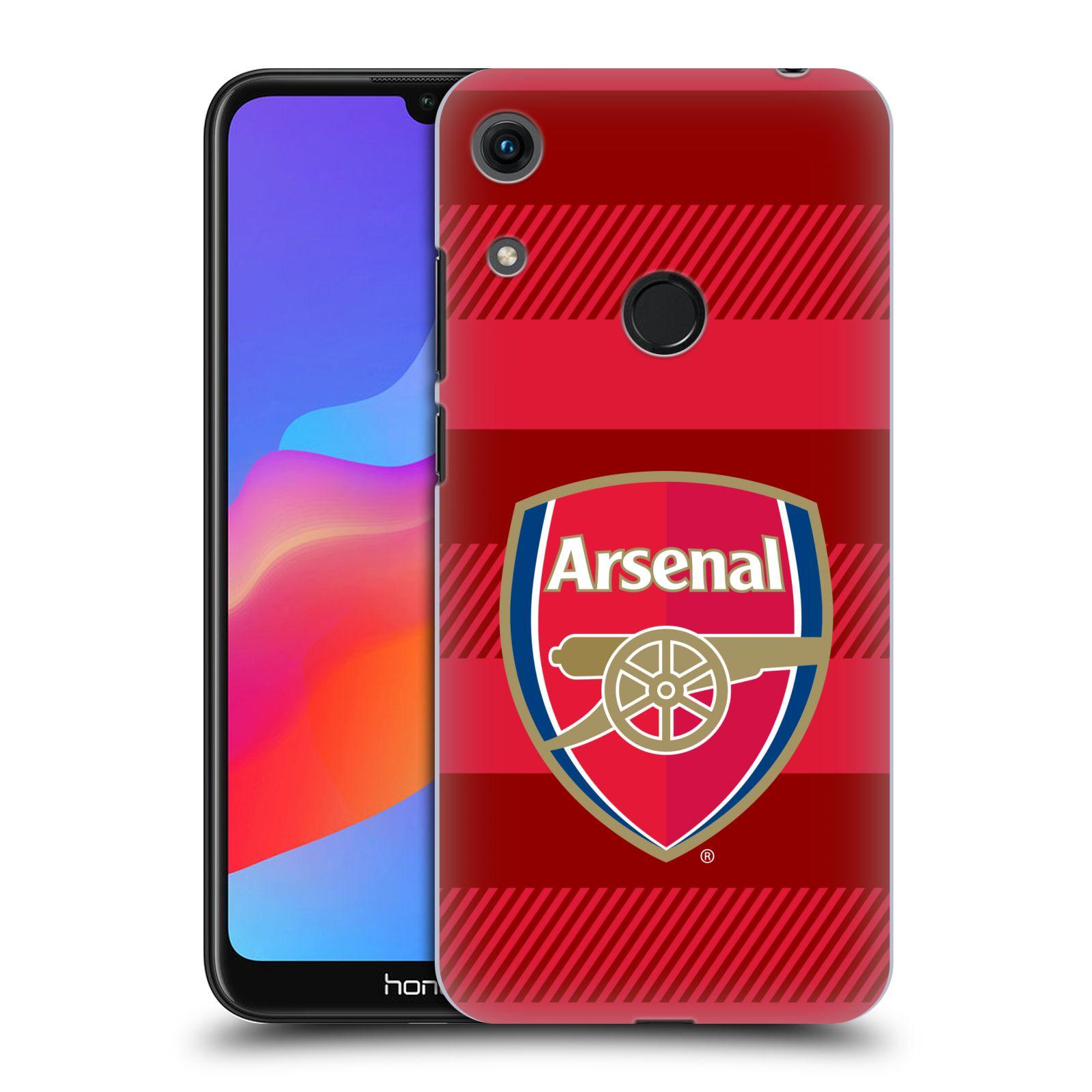 Plastové pouzdro na mobil Honor 8A - Head Case - Arsenal FC - Logo s pruhy