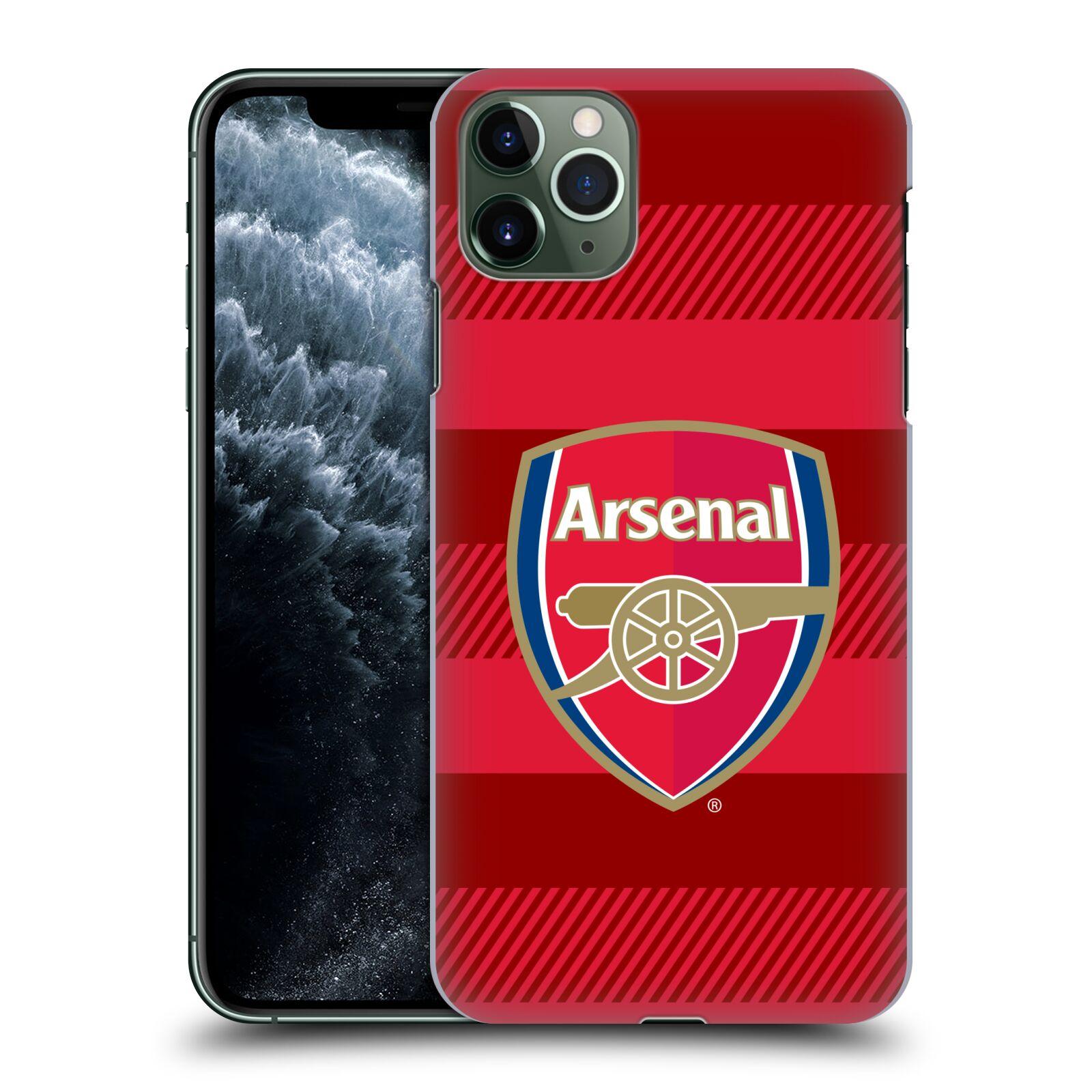 Plastové pouzdro na mobil Apple iPhone 11 Pro Max - Head Case - Arsenal FC - Logo s pruhy