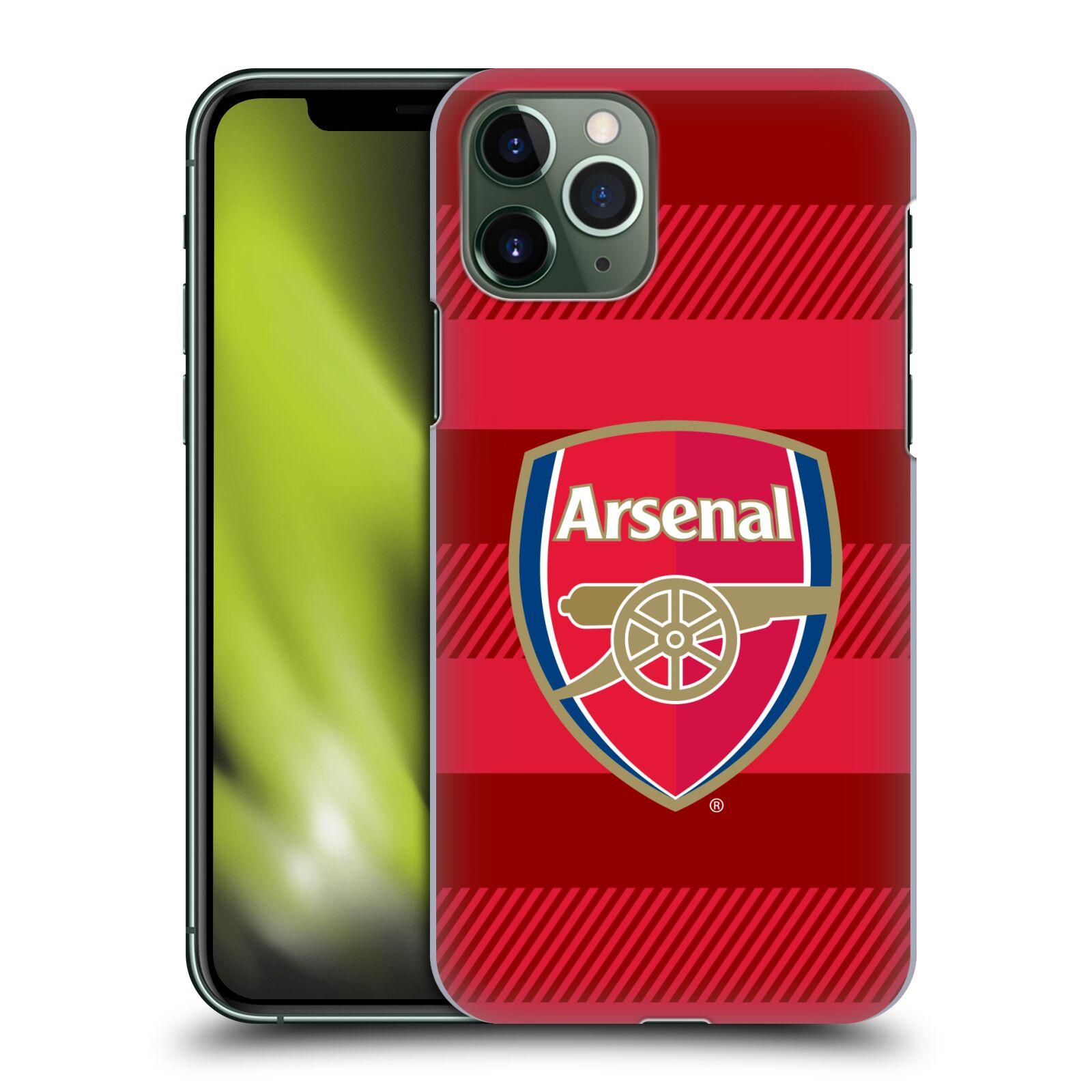Plastové pouzdro na mobil Apple iPhone 11 Pro - Head Case - Arsenal FC - Logo s pruhy