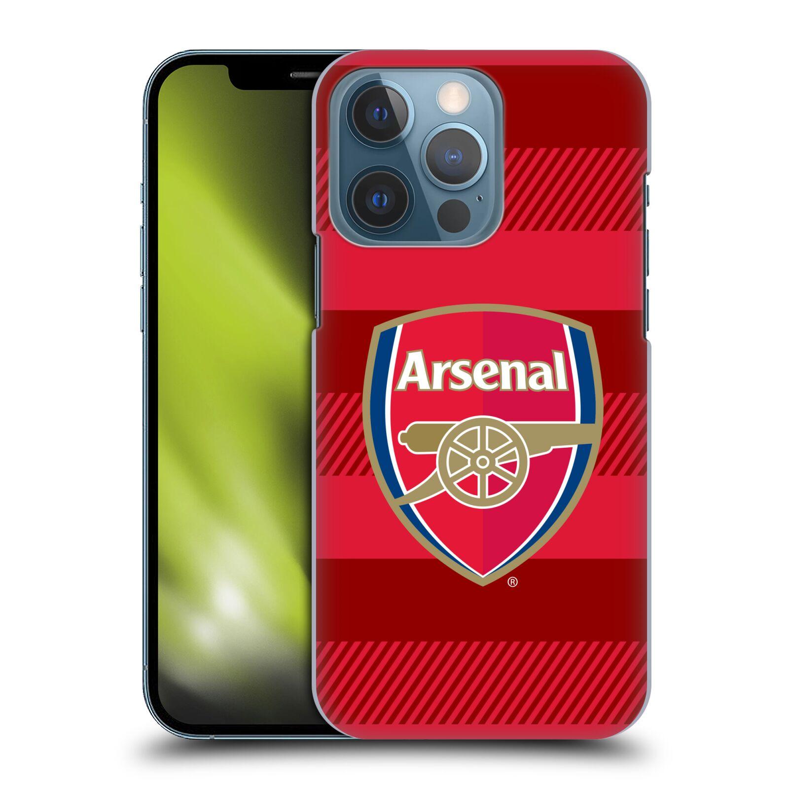 Plastové pouzdro na mobil Apple iPhone 13 Pro - Head Case - Arsenal FC - Logo s pruhy