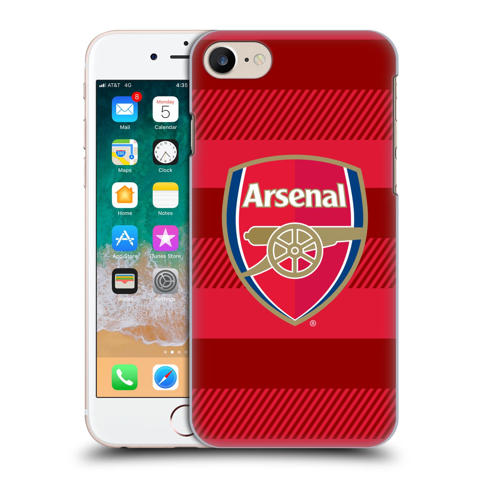 Plastové pouzdro na mobil Apple iPhone SE (2020) - Head Case - Arsenal FC - Logo s pruhy
