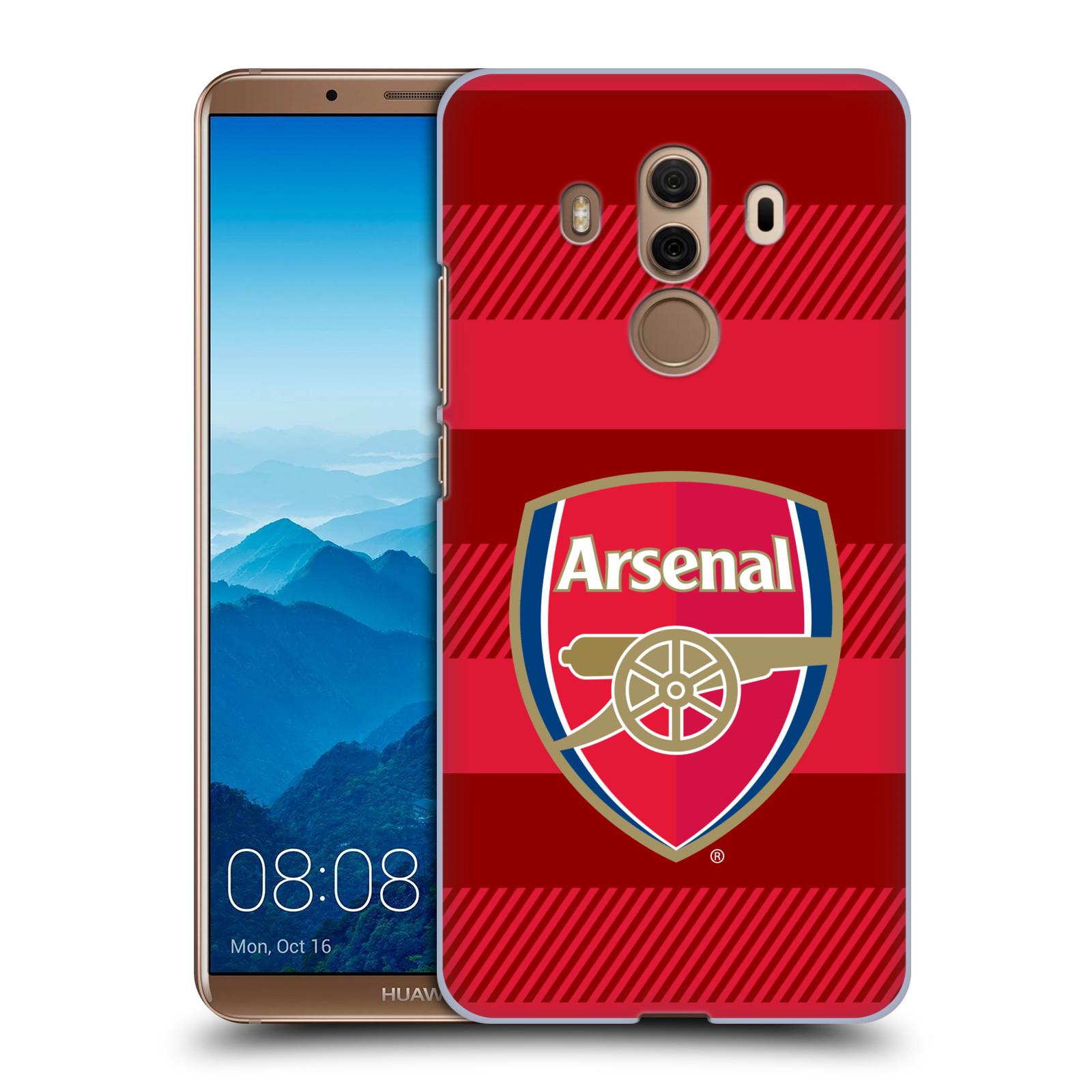 Plastové pouzdro na mobil Huawei Mate 10 Pro - Head Case - Arsenal FC - Logo s pruhy