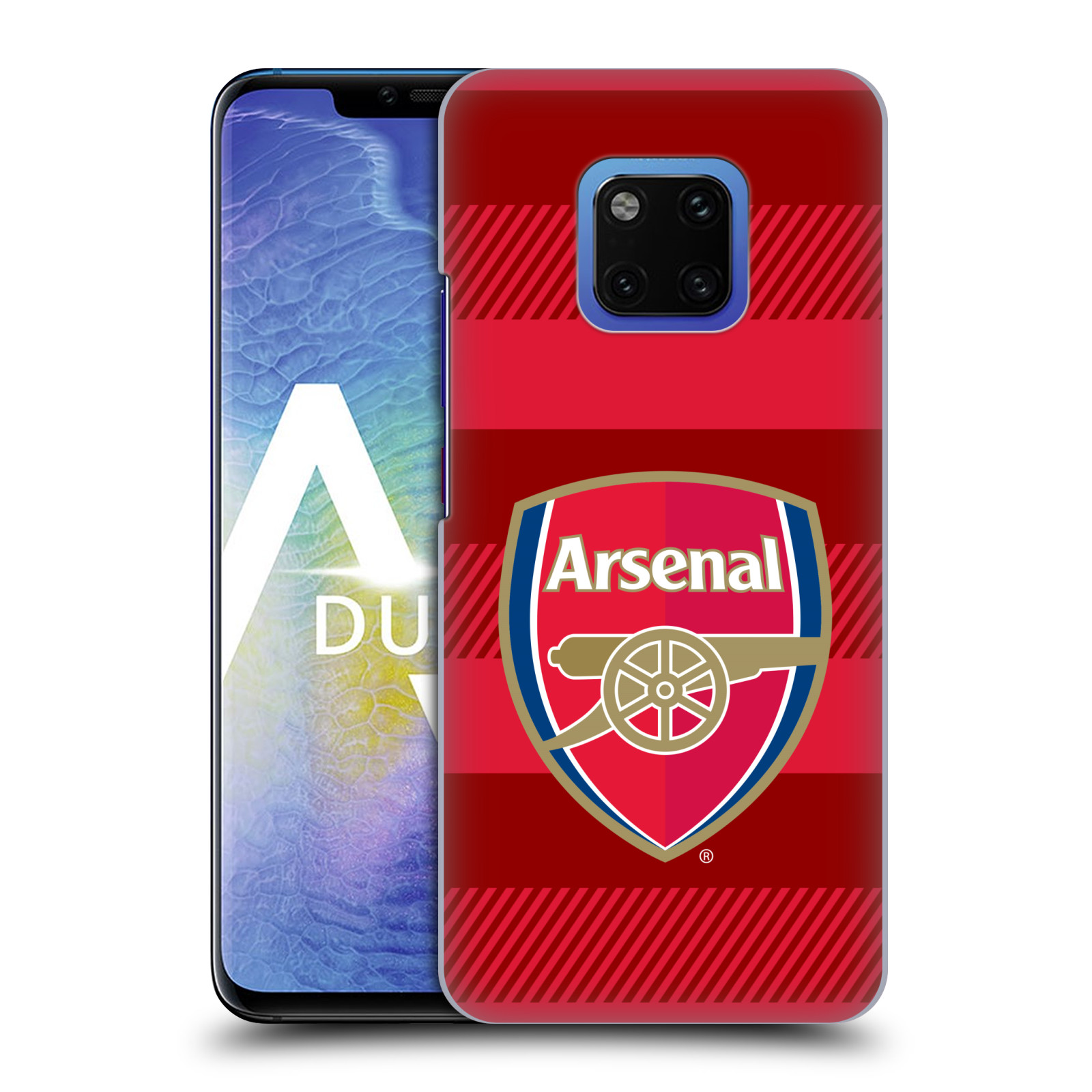 Plastové pouzdro na mobil Huawei Mate 20 Pro - Head Case - Arsenal FC - Logo s pruhy