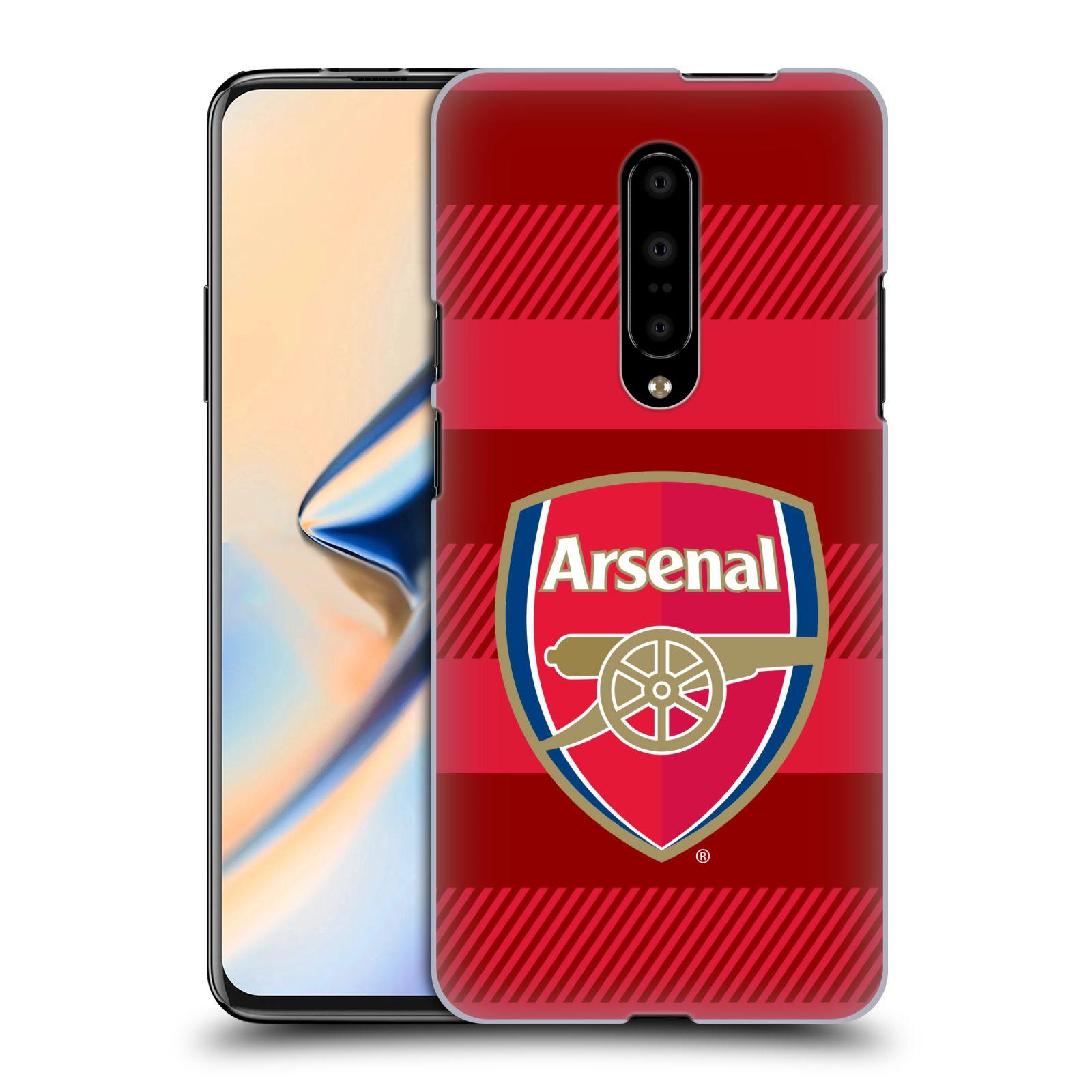 Plastové pouzdro na mobil OnePlus 7 - Head Case - Arsenal FC - Logo s pruhy