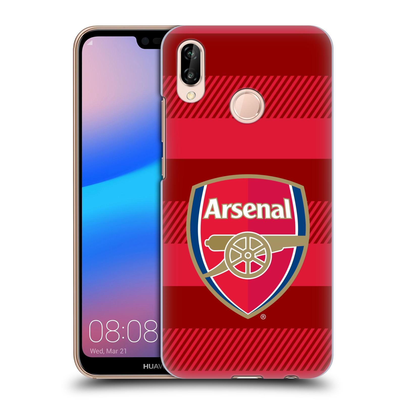 Plastové pouzdro na mobil Huawei P20 Lite - Head Case - Arsenal FC - Logo s pruhy