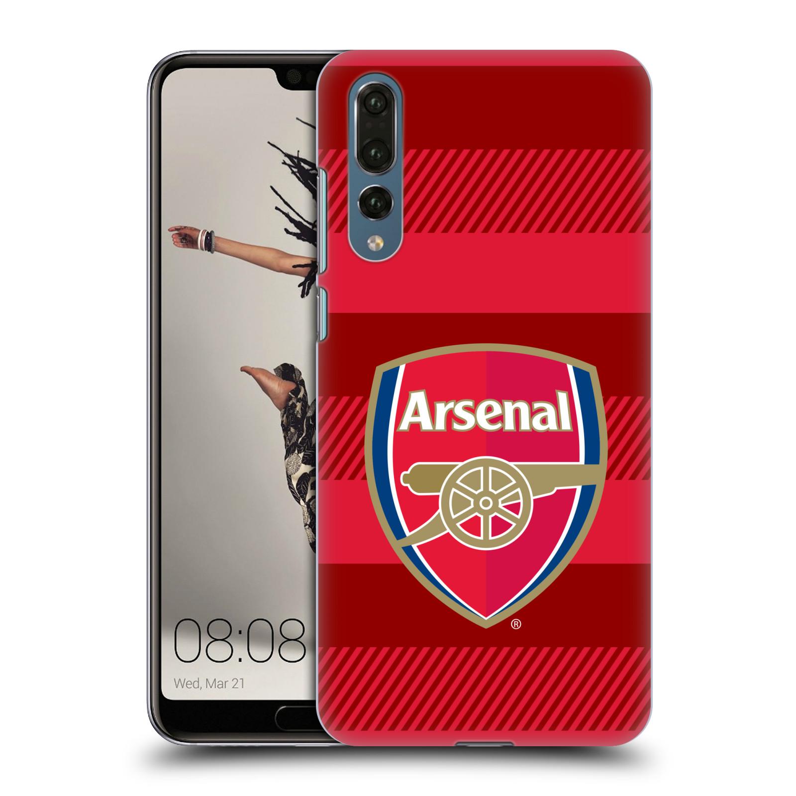 Plastové pouzdro na mobil Huawei P20 Pro - Head Case - Arsenal FC - Logo s pruhy