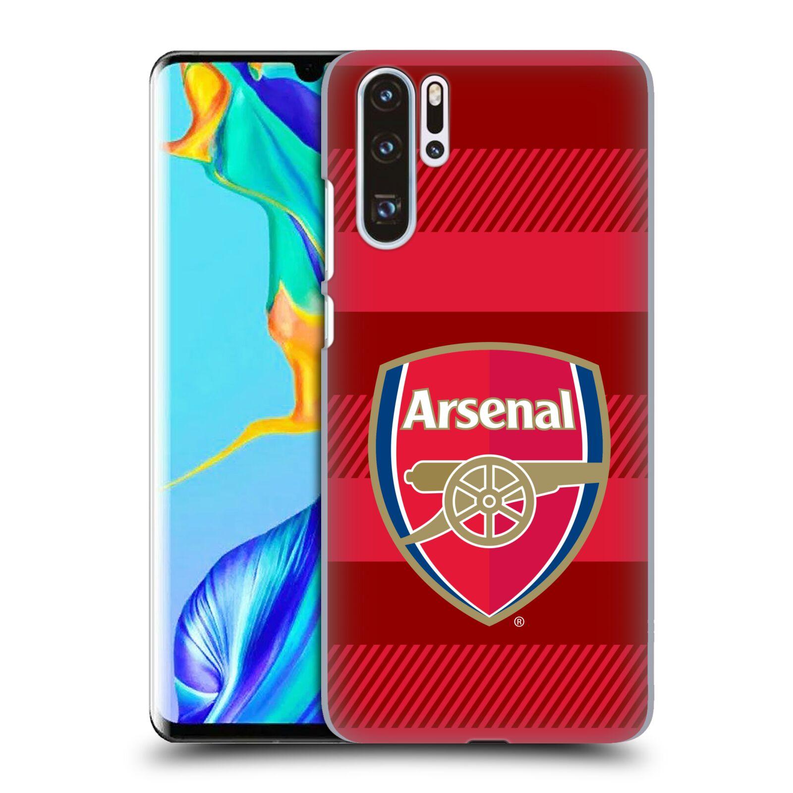 Plastové pouzdro na mobil Huawei P30 Pro - Head Case - Arsenal FC - Logo s pruhy