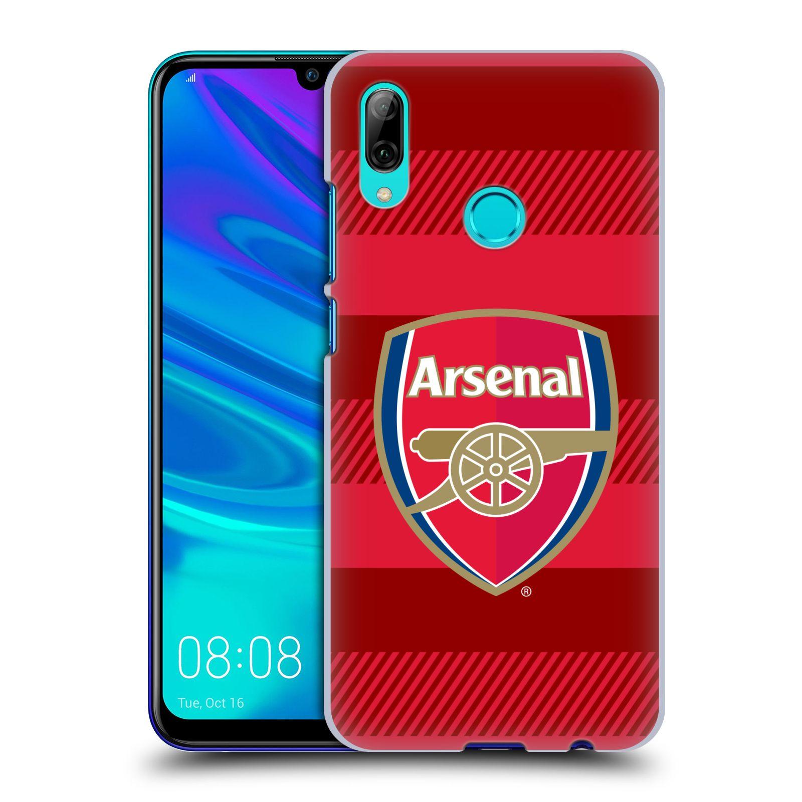 Plastové pouzdro na mobil Huawei P Smart (2019) - Head Case - Arsenal FC - Logo s pruhy
