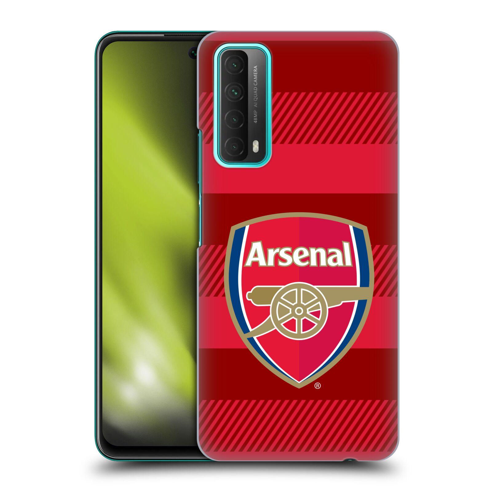 Plastové pouzdro na mobil Huawei P Smart (2021) - Head Case - Arsenal FC - Logo s pruhy