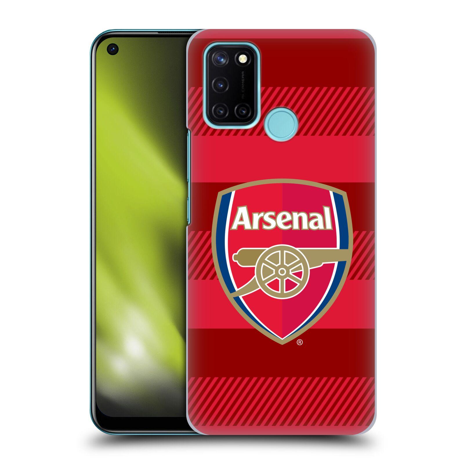 Plastové pouzdro na mobil Realme 7i - Head Case - Arsenal FC - Logo s pruhy