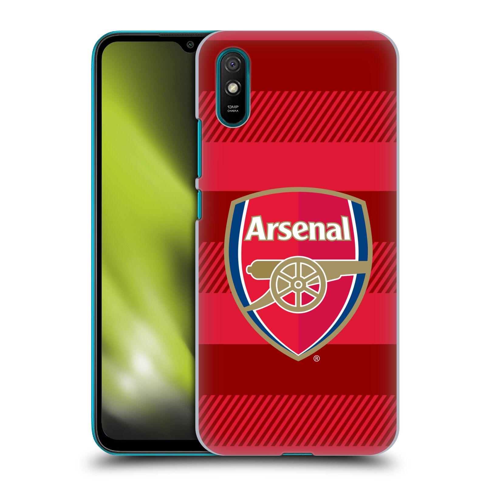 Plastové pouzdro na mobil Xiaomi Redmi 9A / Xiaomi Redmi 9AT - Head Case - Arsenal FC - Logo s pruhy