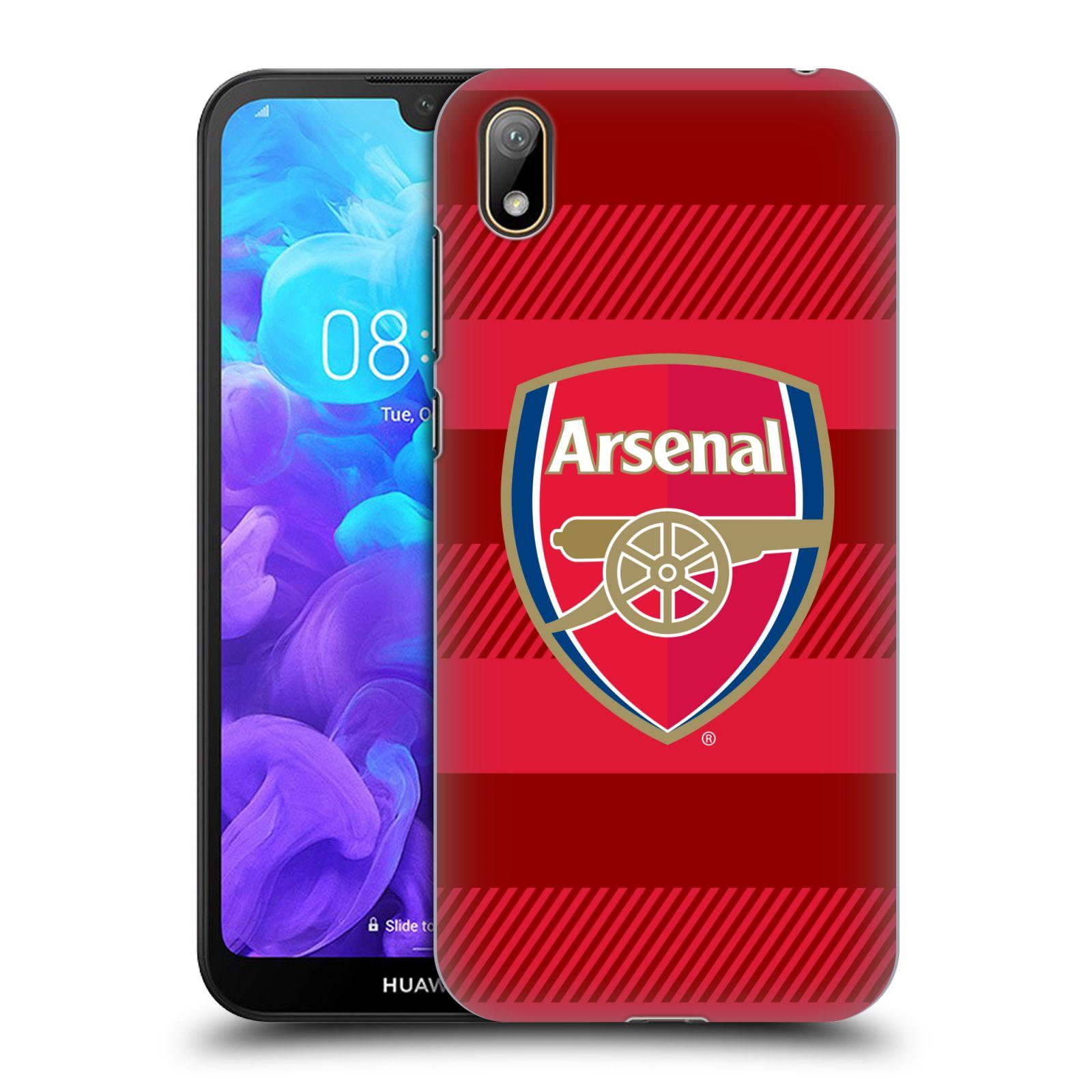 Plastové pouzdro na mobil Honor 8S - Head Case - Arsenal FC - Logo s pruhy