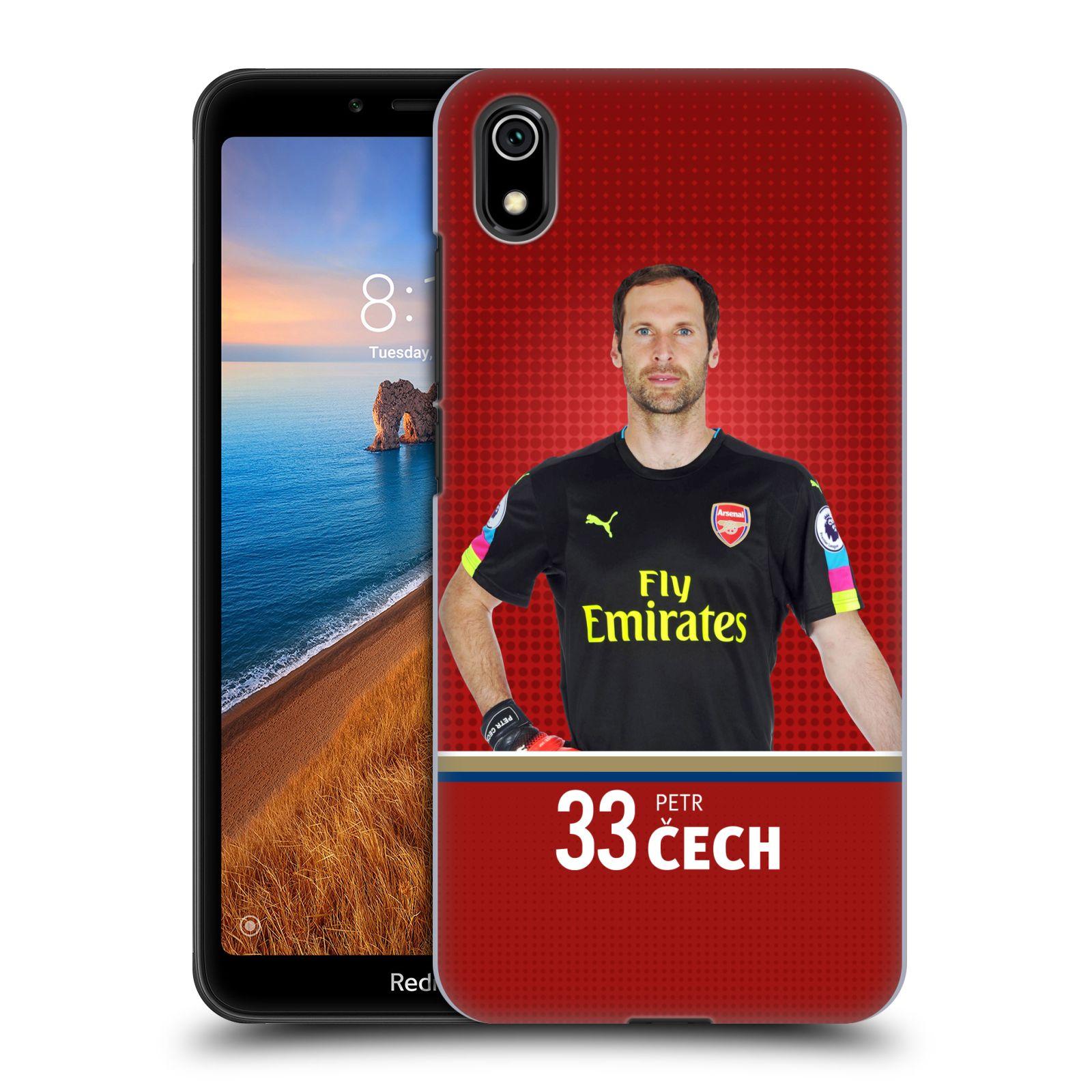 Plastové pouzdro na mobil Xiaomi Redmi 7A - Head Case - Arsenal FC - Petr Čech
