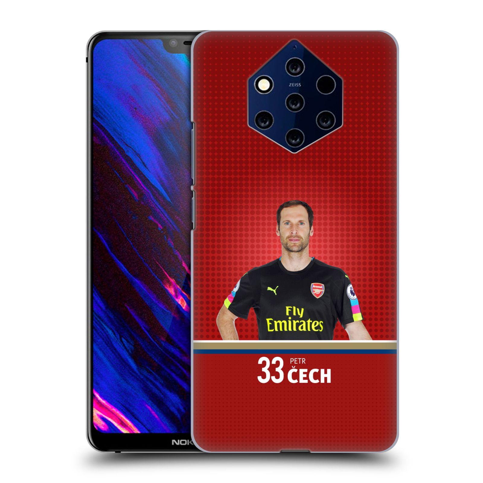 Plastové pouzdro na mobil Nokia 9 PureView - Head Case - Arsenal FC - Petr Čech