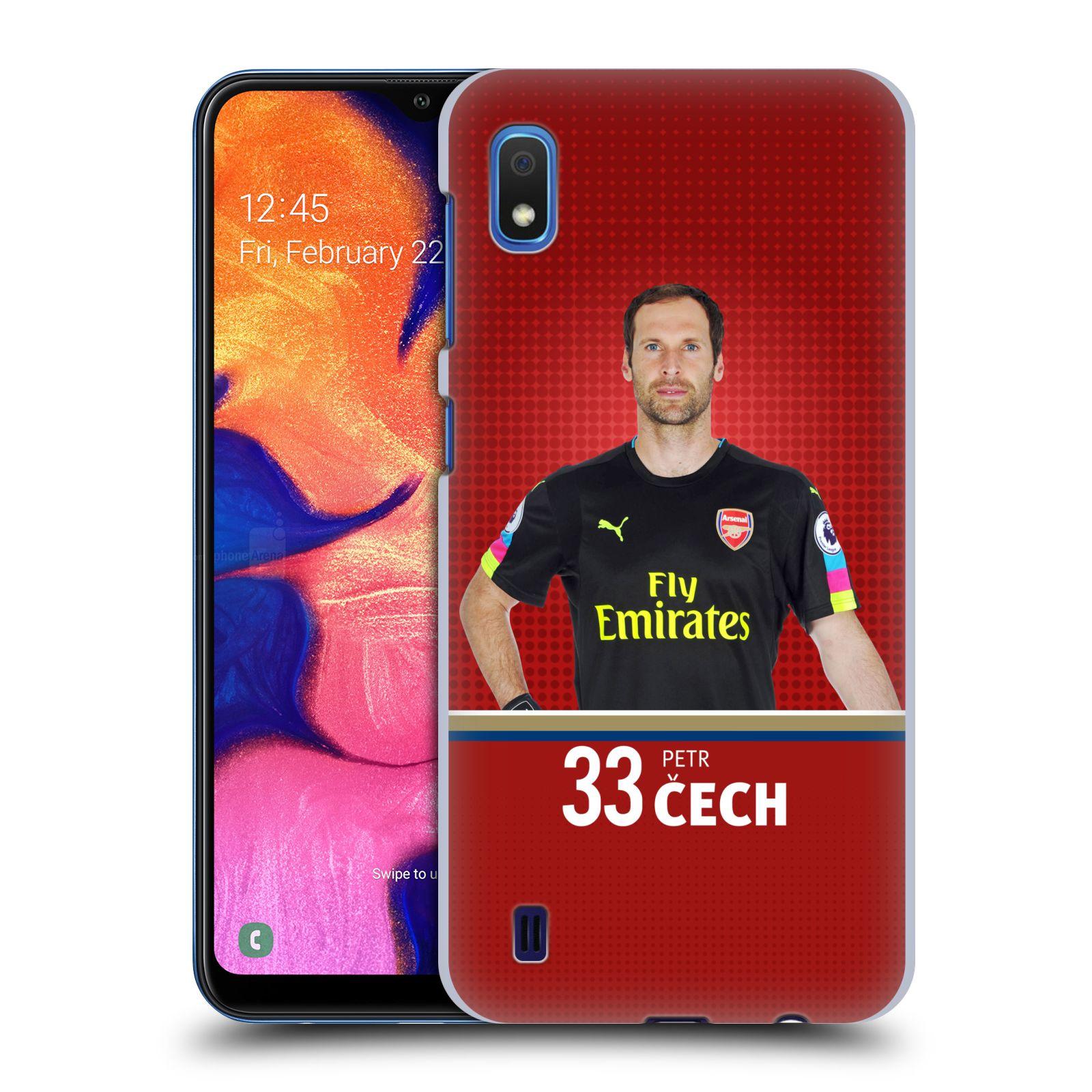 Plastové pouzdro na mobil Samsung Galaxy A10 - Head Case - Arsenal FC - Petr Čech
