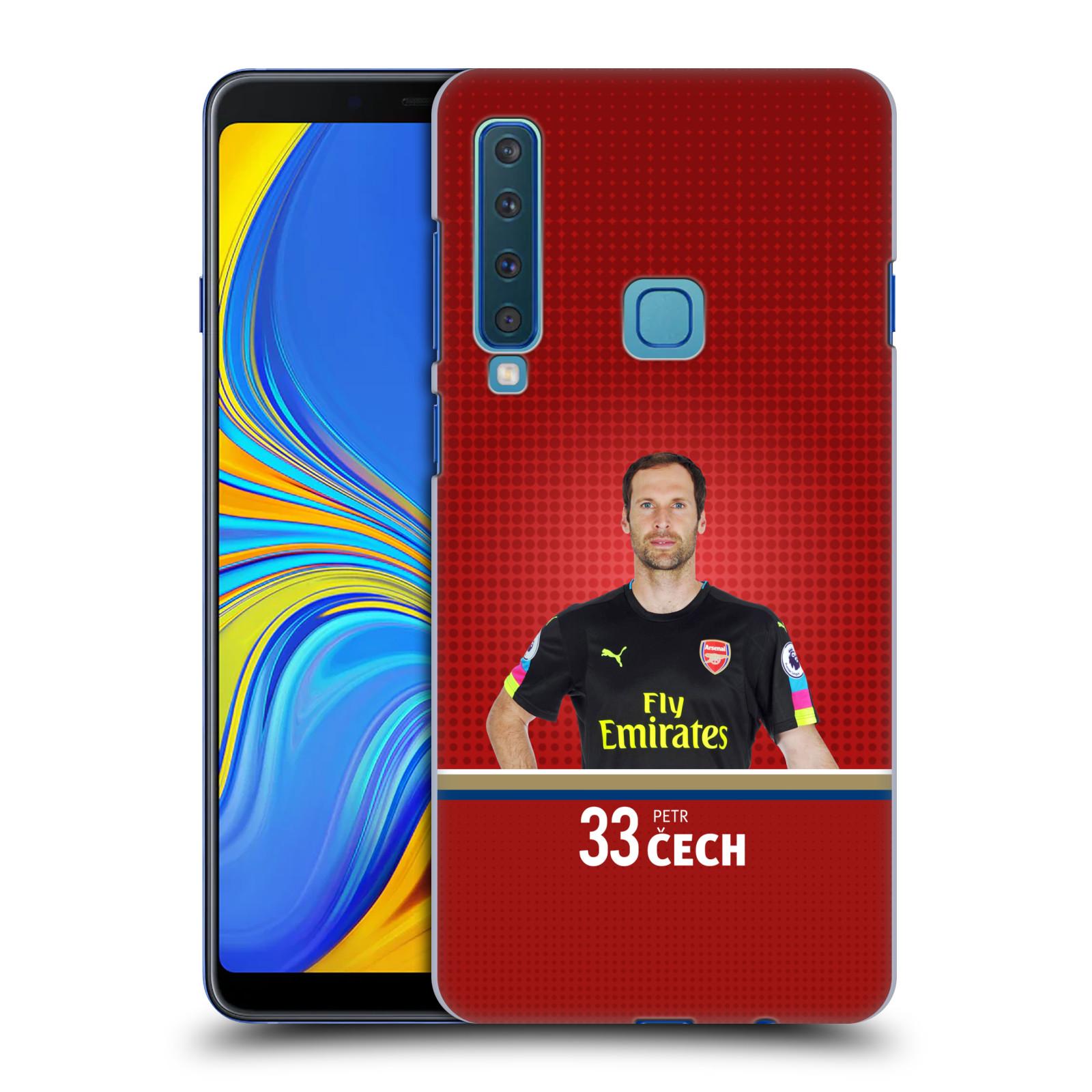 Plastové pouzdro na mobil Samsung Galaxy A9 (2018) - Head Case - Arsenal FC - Petr Čech