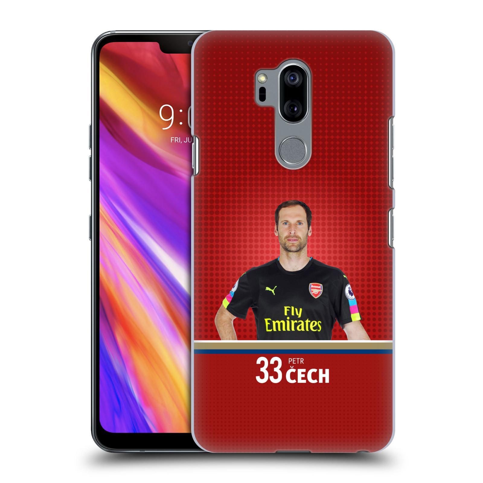 Plastové pouzdro na mobil LG G7 ThinQ - Head Case - Arsenal FC - Petr Čech