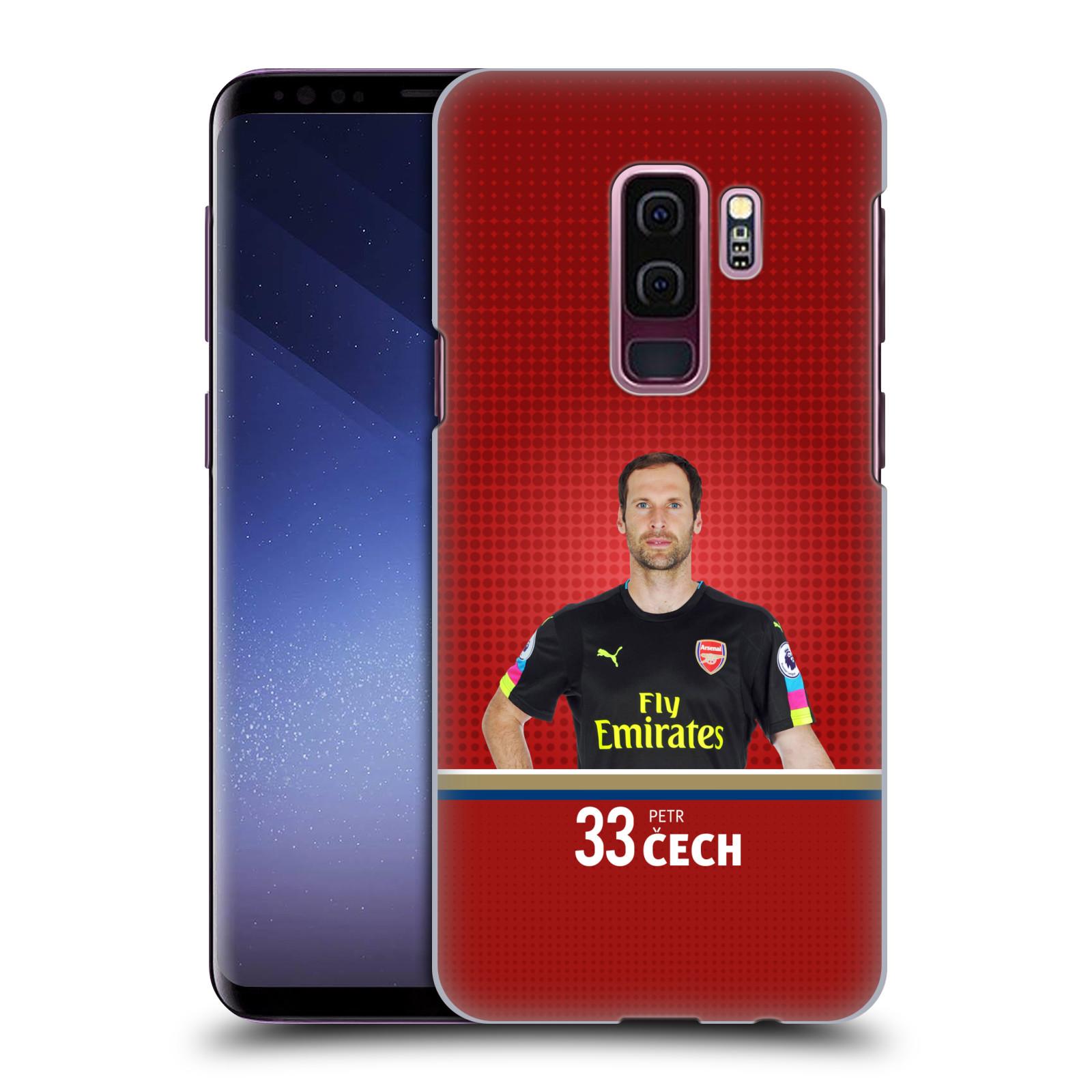 Plastové pouzdro na mobil Samsung Galaxy S9 Plus - Head Case - Arsenal FC - Petr Čech