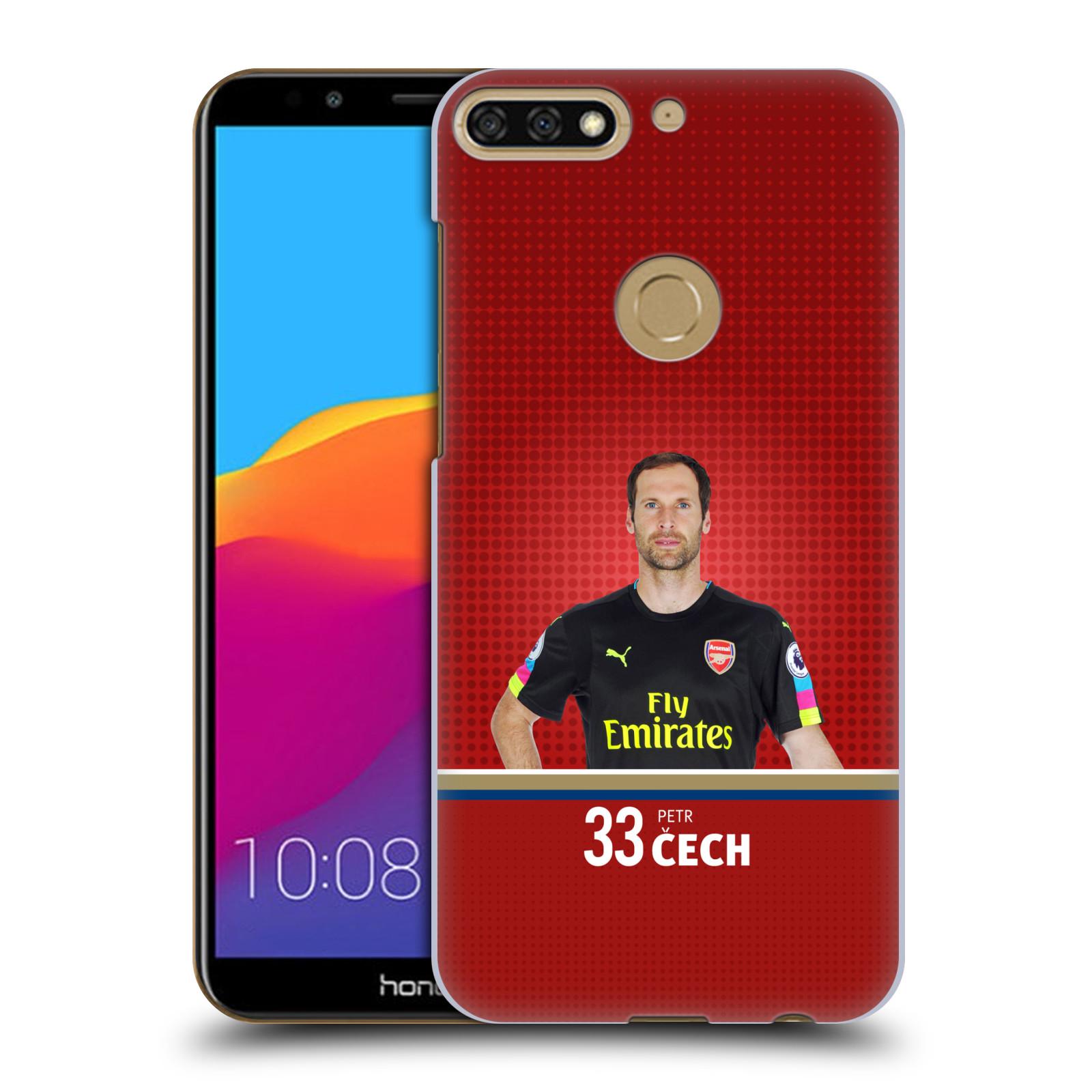 Plastové pouzdro na mobil Huawei Y7 Prime 2018 - Head Case - Arsenal FC - Petr Čech