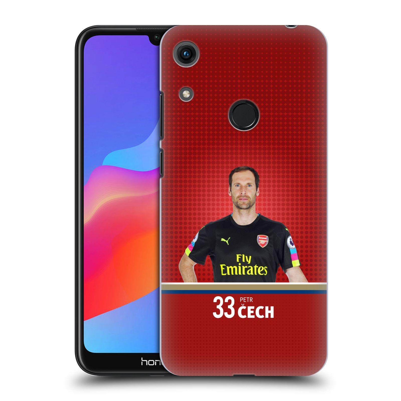 Plastové pouzdro na mobil Honor 8A - Head Case - Arsenal FC - Petr Čech