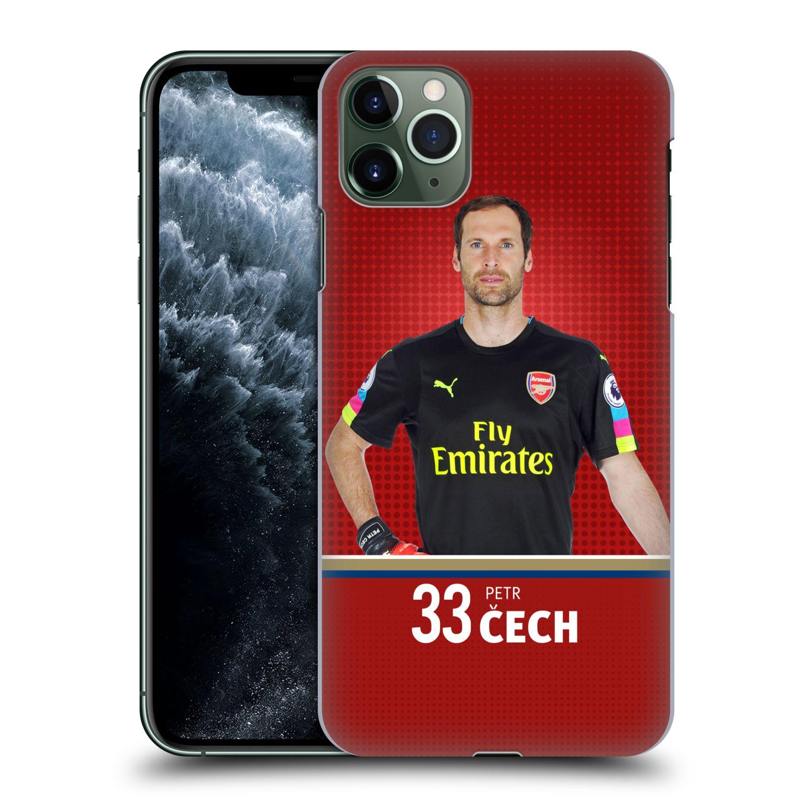 Plastové pouzdro na mobil Apple iPhone 11 Pro Max - Head Case - Arsenal FC - Petr Čech