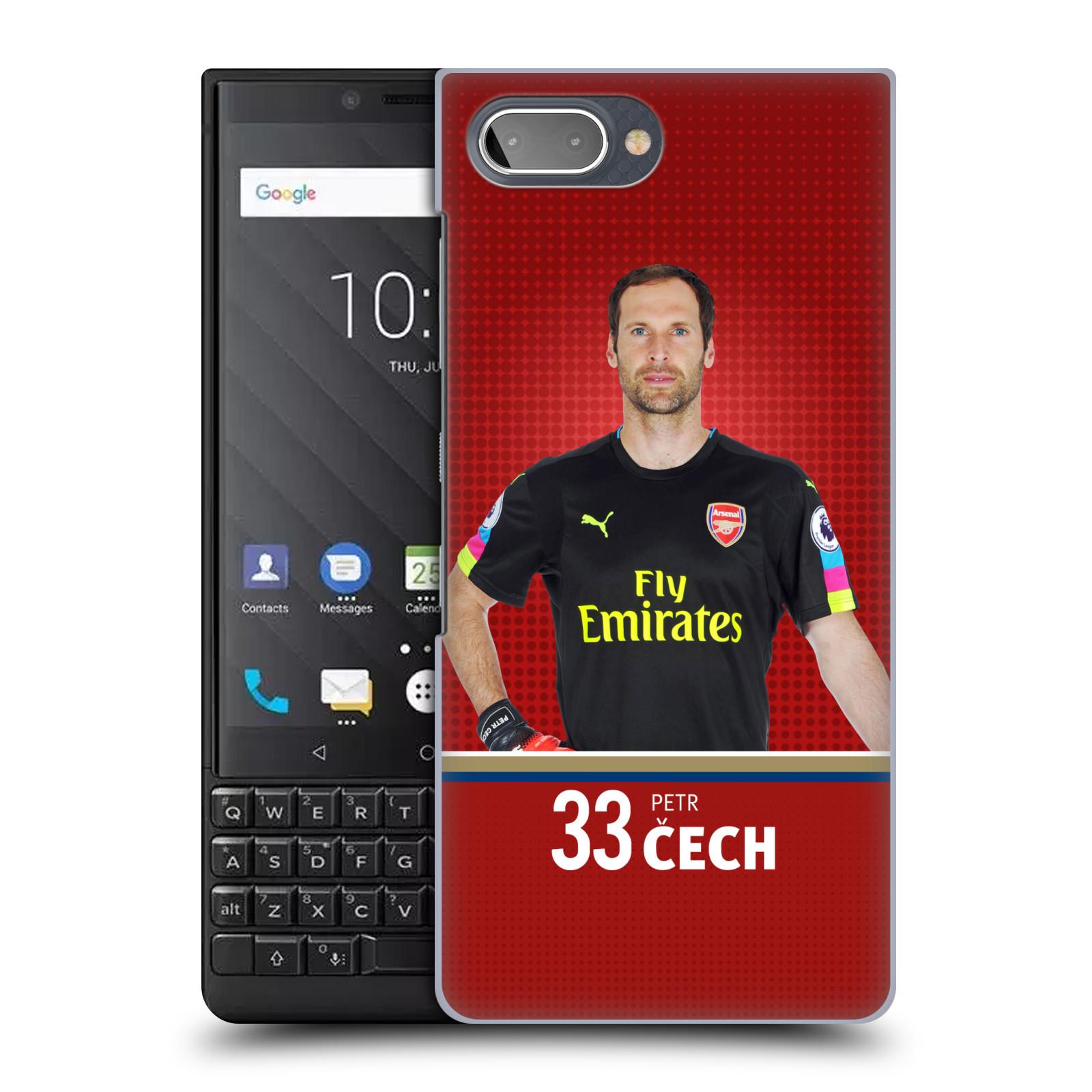 Plastové pouzdro na mobil Blackberry Key 2 - Head Case - Arsenal FC - Petr Čech