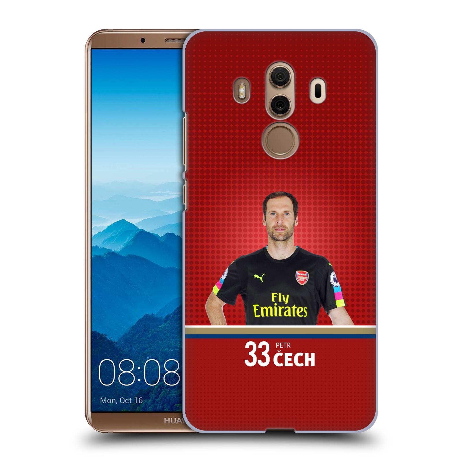 Plastové pouzdro na mobil Huawei Mate 10 Pro - Head Case - Arsenal FC - Petr Čech