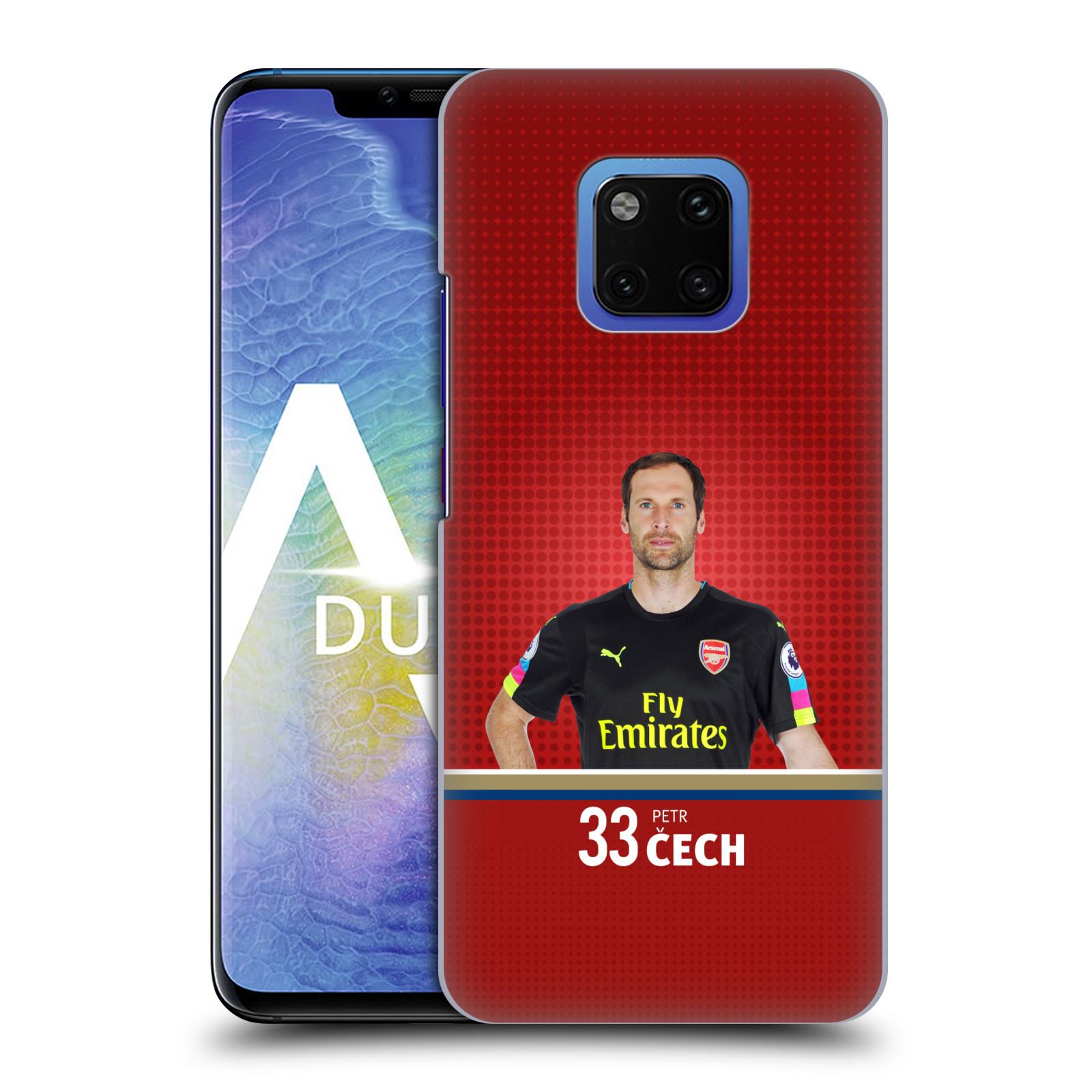 Plastové pouzdro na mobil Huawei Mate 20 Pro - Head Case - Arsenal FC - Petr Čech