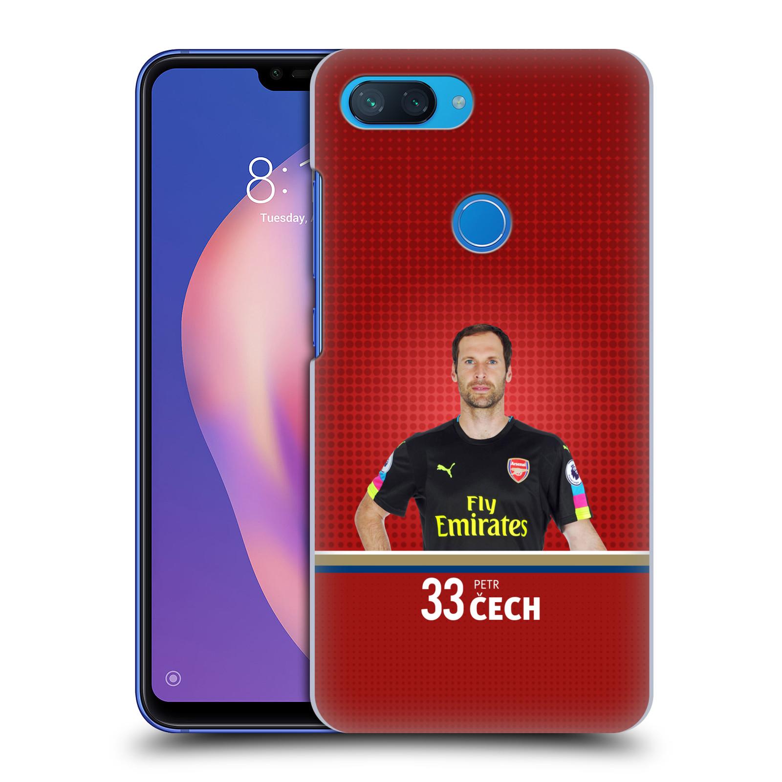 Plastové pouzdro na mobil Xiaomi Mi 8 Lite - Head Case - Arsenal FC - Petr Čech