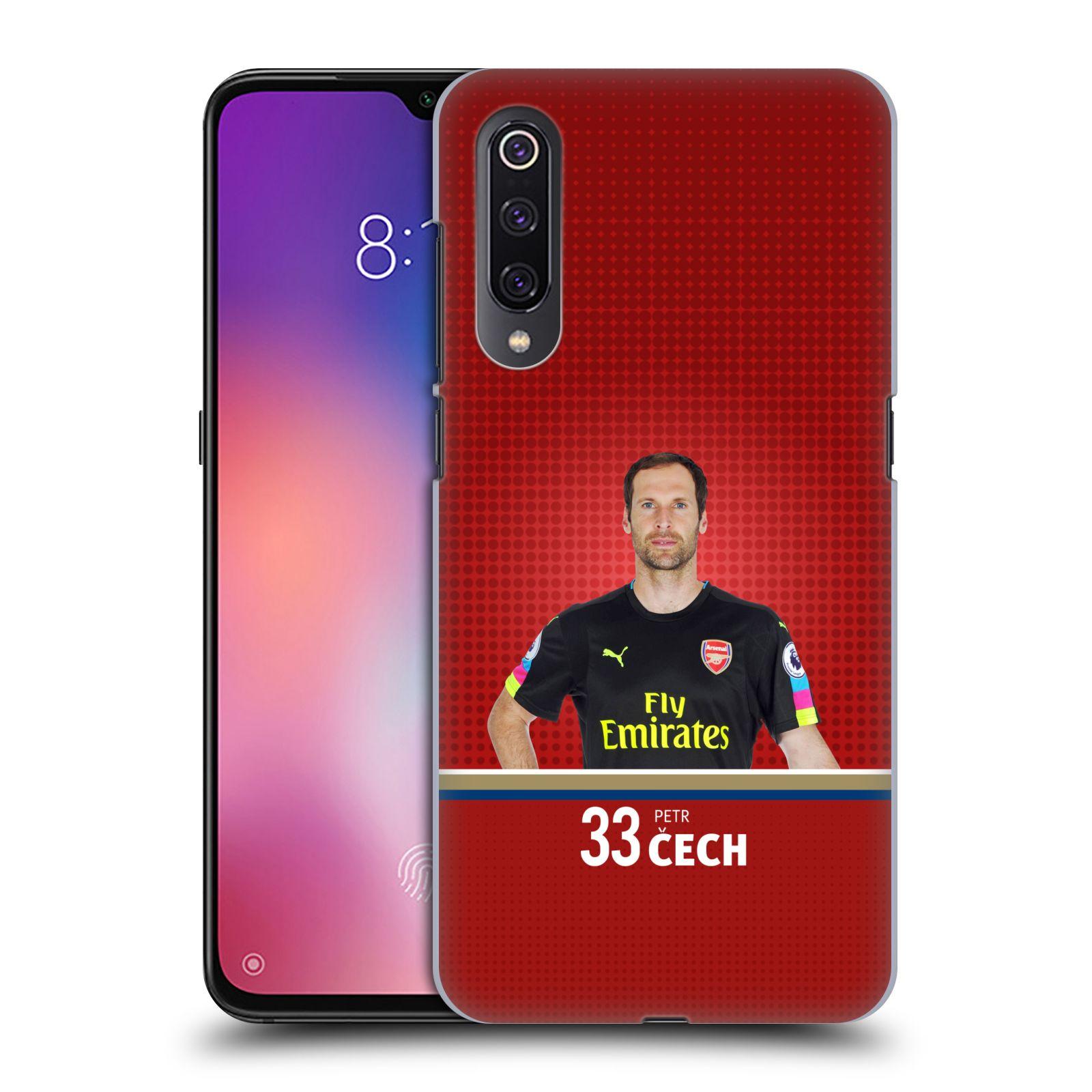 Plastové pouzdro na mobil Xiaomi Mi 9 - Head Case - Arsenal FC - Petr Čech