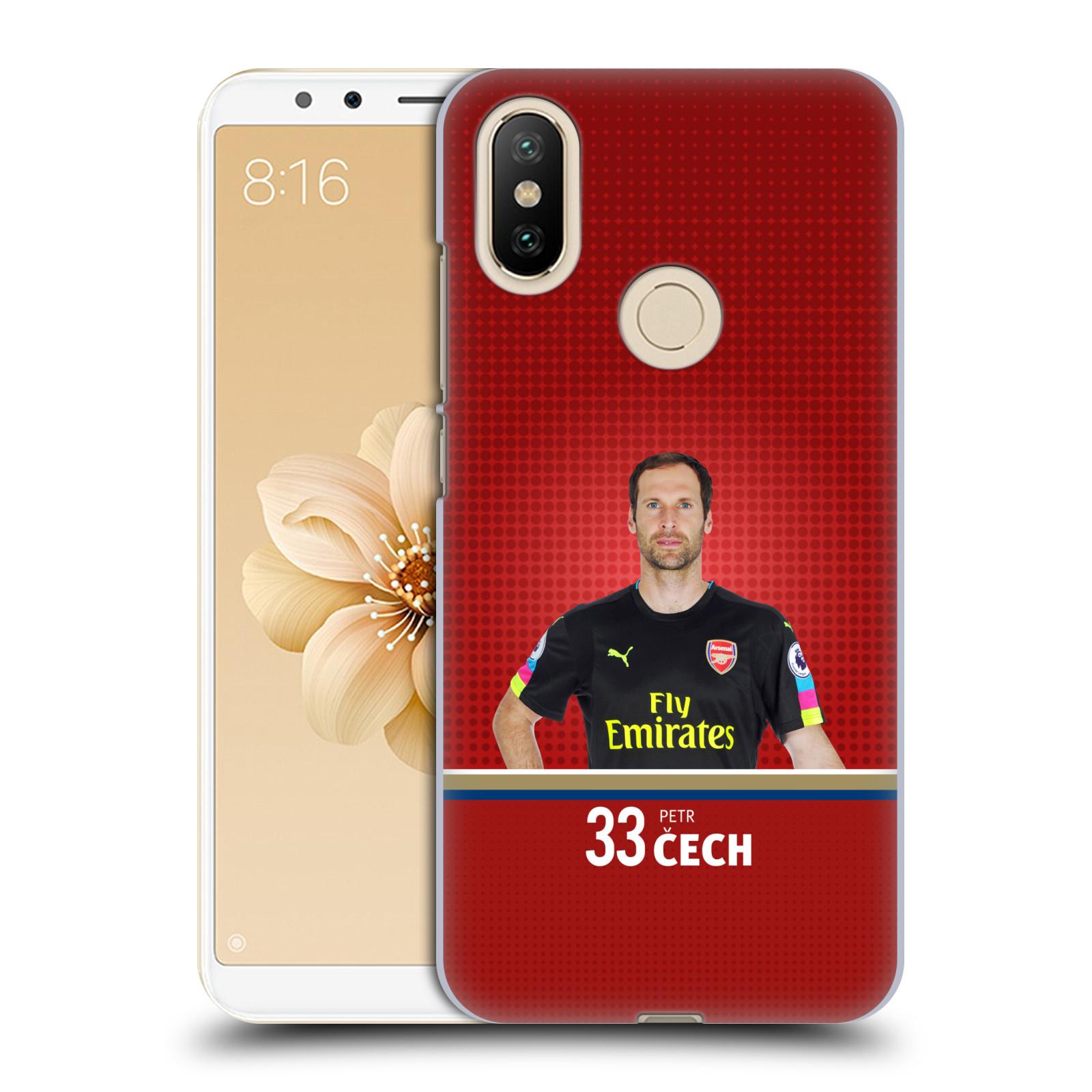Plastové pouzdro na mobil Xiaomi Mi A2 - Head Case - Arsenal FC - Petr Čech