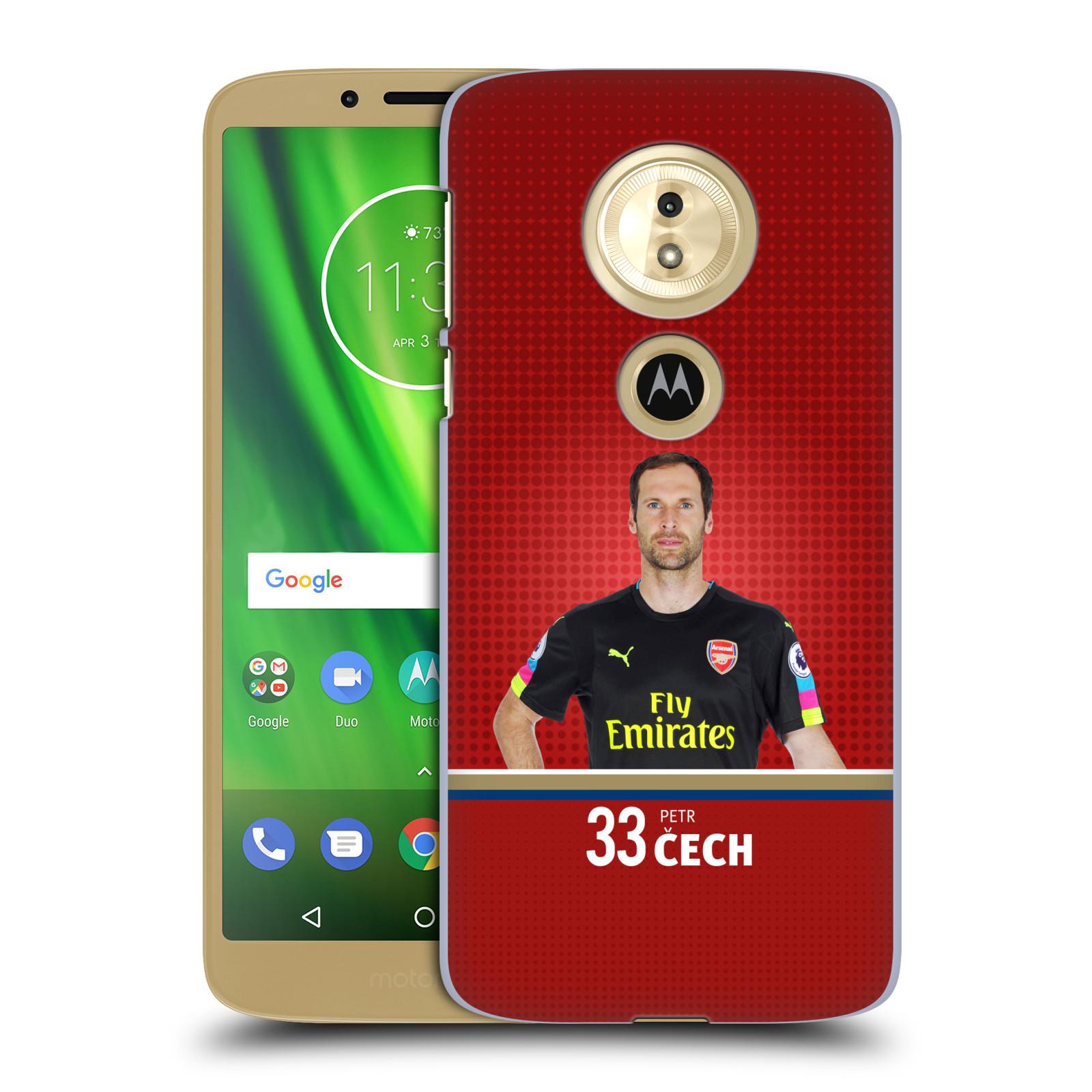 Plastové pouzdro na mobil Motorola Moto G6 Play - Head Case - Arsenal FC - Petr Čech