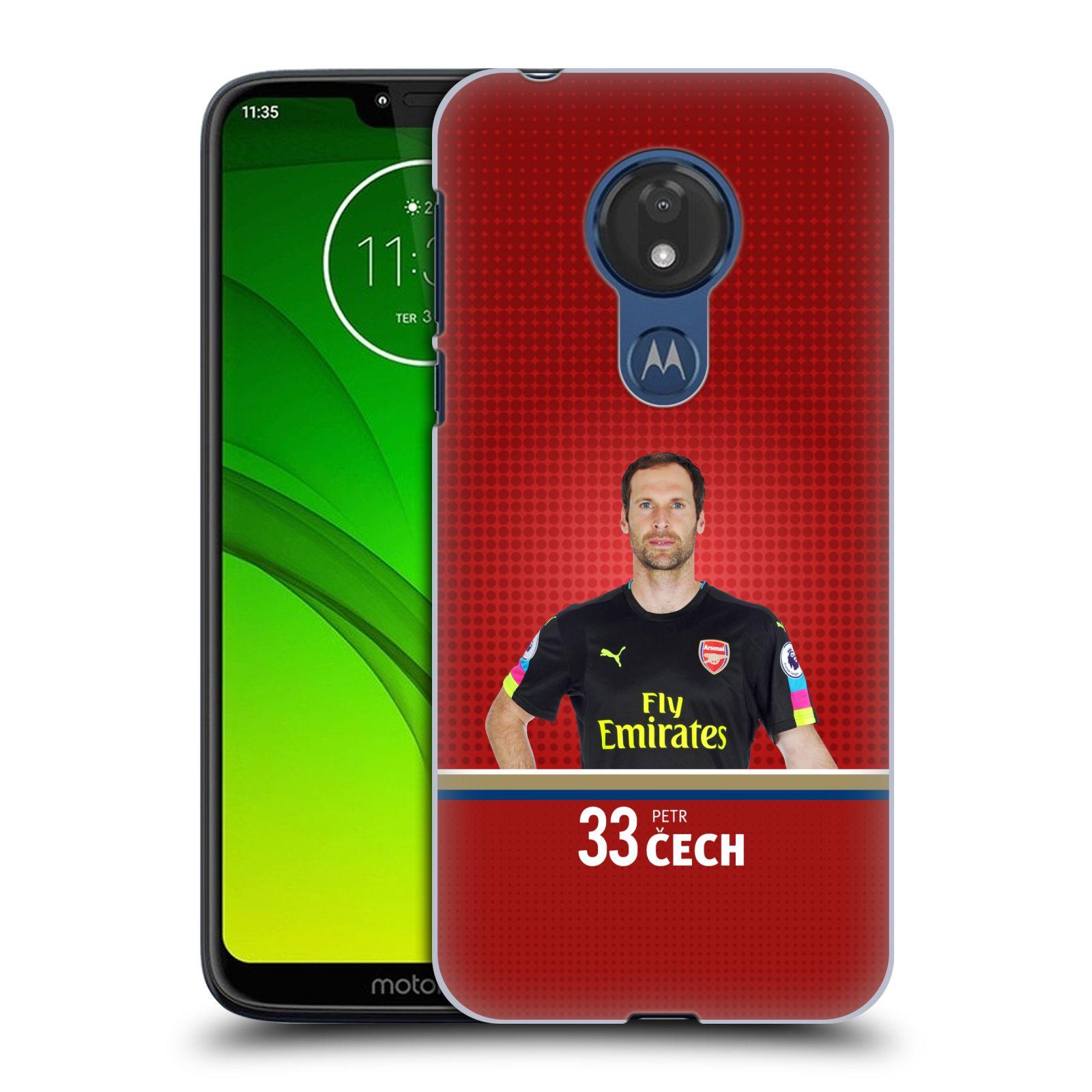 Plastové pouzdro na mobil Motorola Moto G7 Power - Head Case - Arsenal FC - Petr Čech