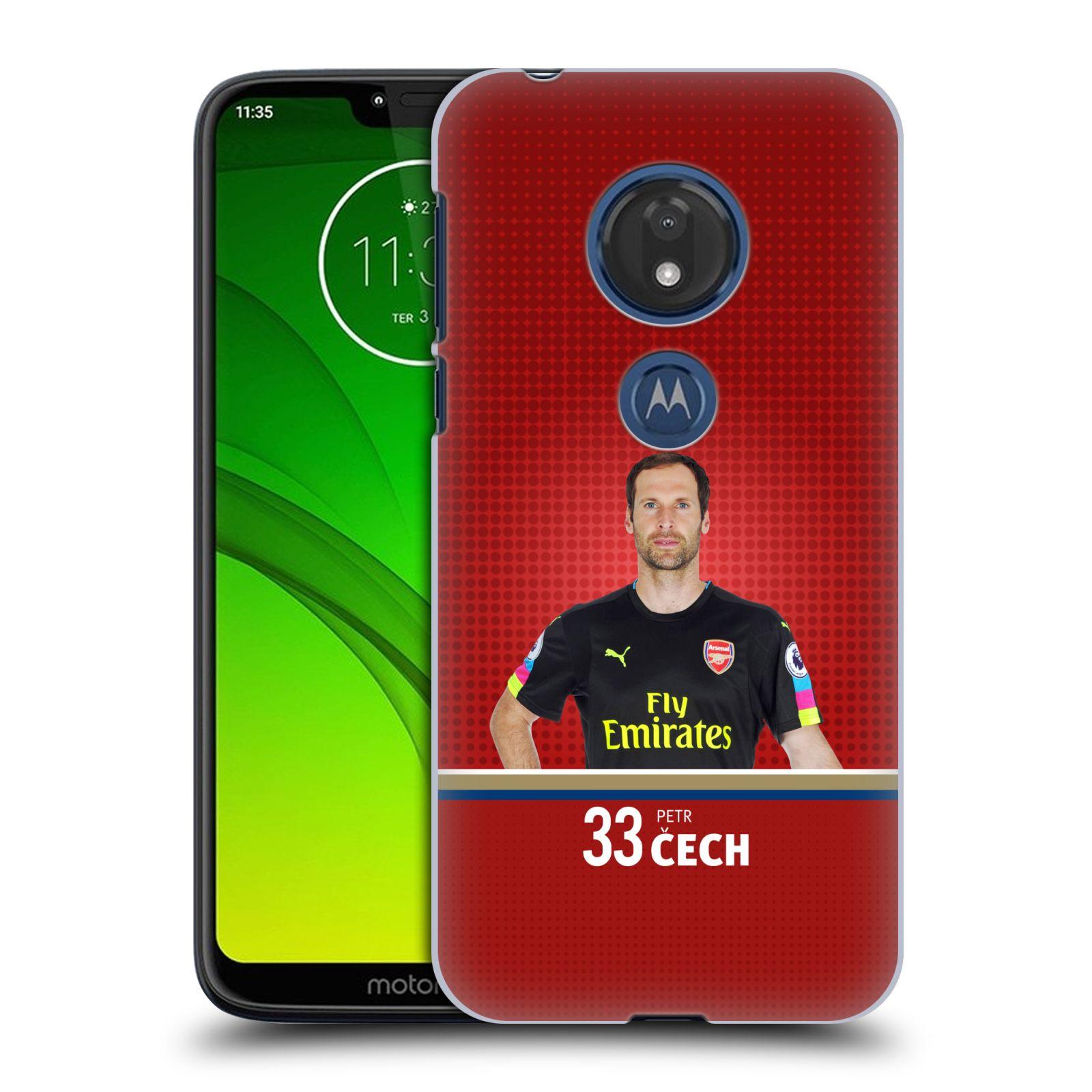Plastové pouzdro na mobil Motorola Moto G7 Play - Head Case - Arsenal FC - Petr Čech