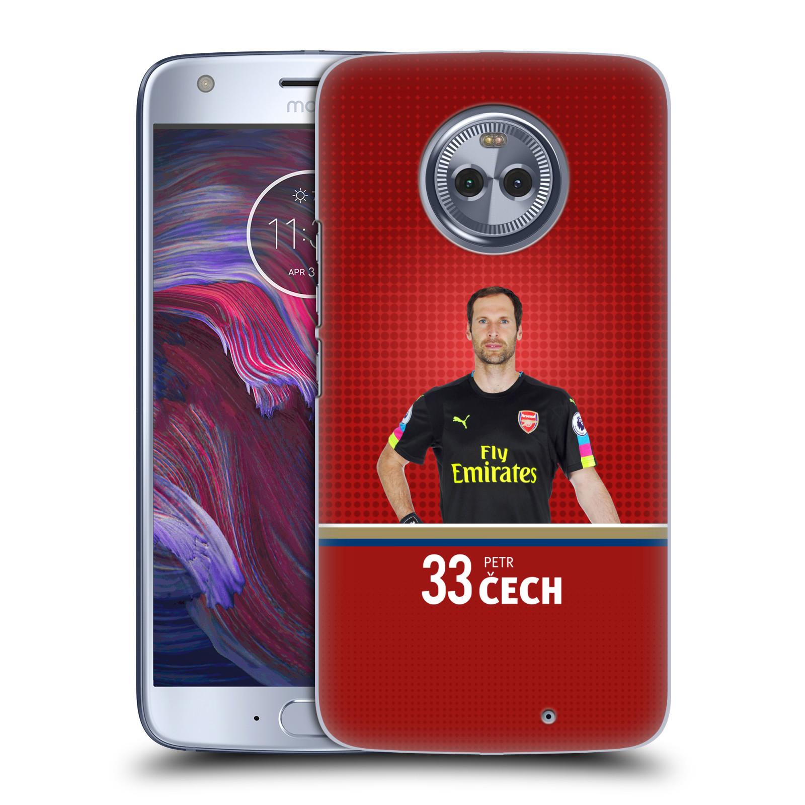 Plastové pouzdro na mobil Lenovo Moto X4 - Head Case - Arsenal FC - Petr Čech