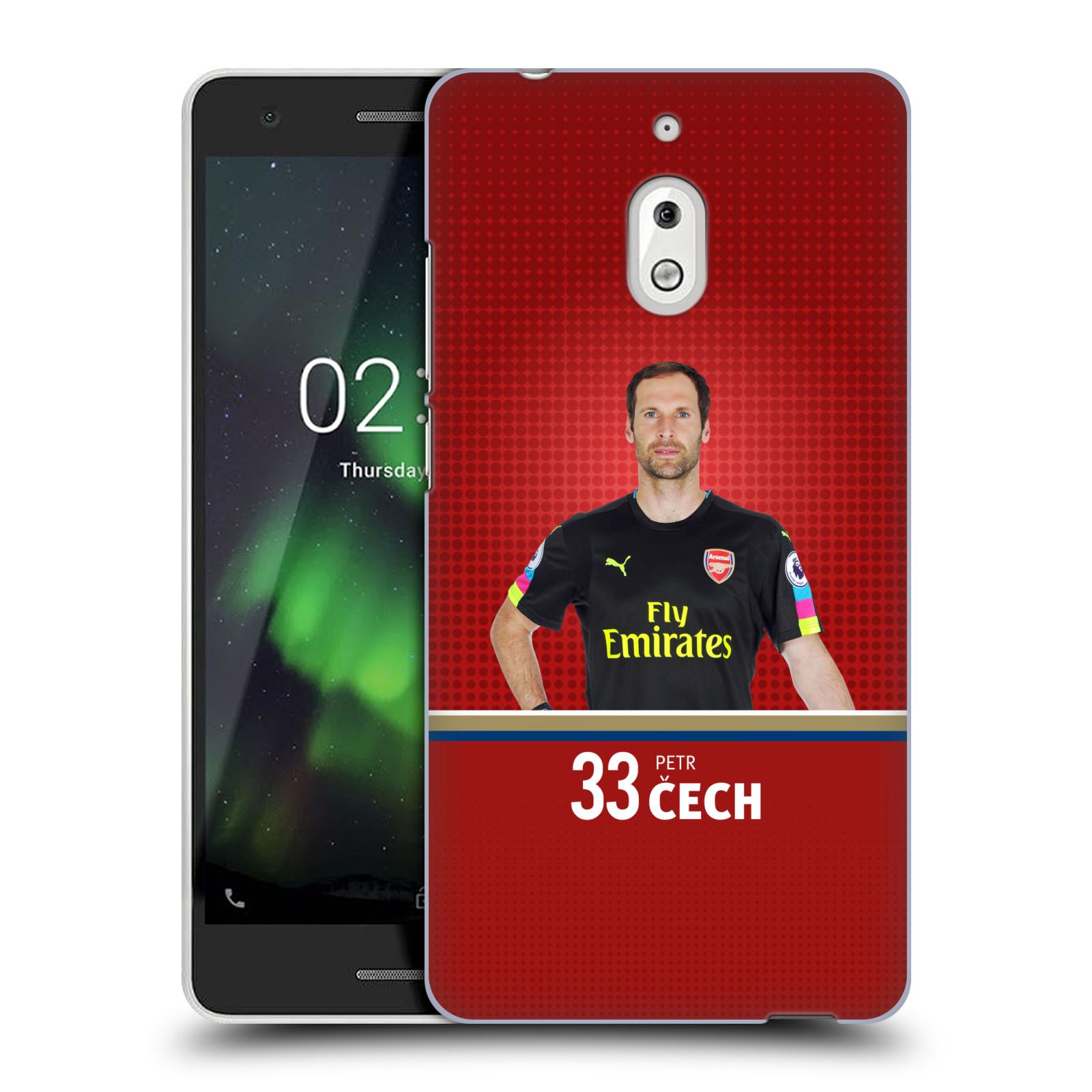 Plastové pouzdro na mobil Nokia 2.1 - Head Case - Arsenal FC - Petr Čech