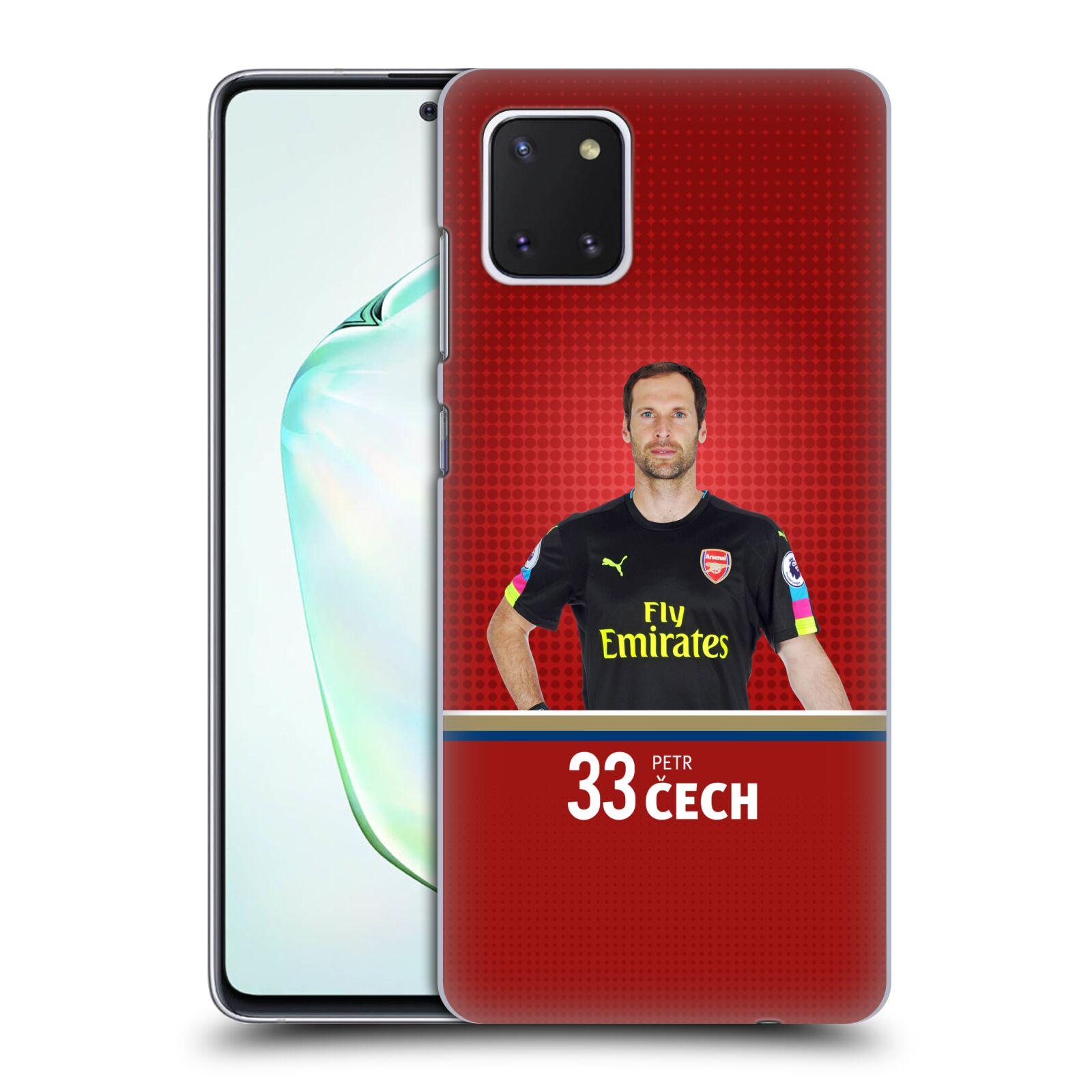 Plastové pouzdro na mobil Samsung Galaxy Note 10 Lite - Head Case - Arsenal FC - Petr Čech