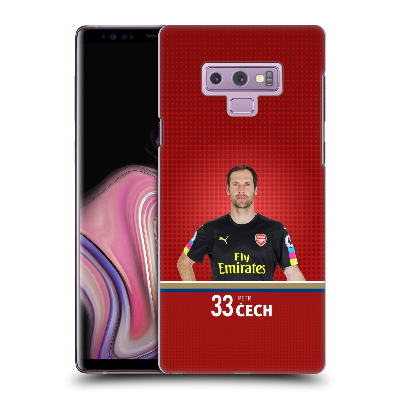 Plastové pouzdro na mobil Samsung Galaxy Note 9 - Head Case - Arsenal FC - Petr Čech