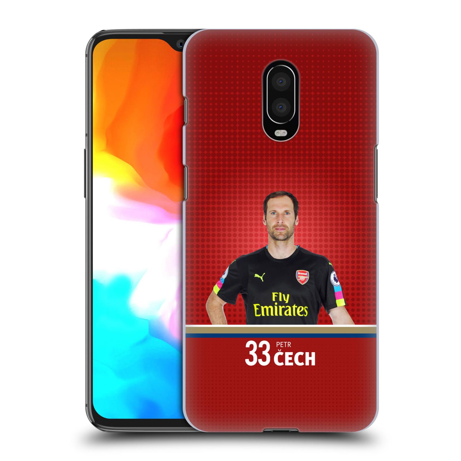 Plastové pouzdro na mobil OnePlus 6T - Head Case - Arsenal FC - Petr Čech