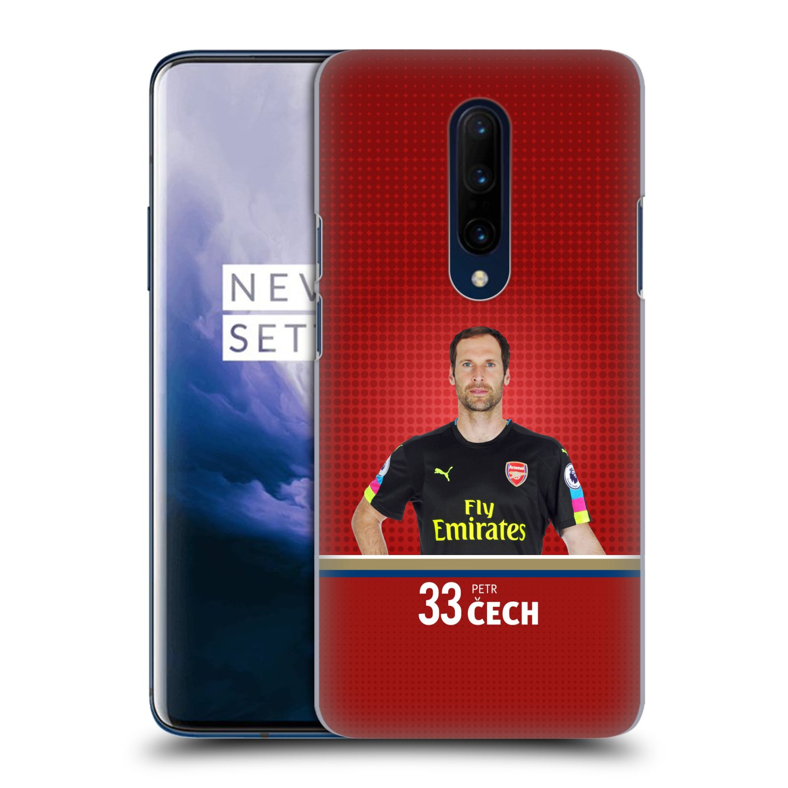 Plastové pouzdro na mobil OnePlus 7 Pro - Head Case - Arsenal FC - Petr Čech
